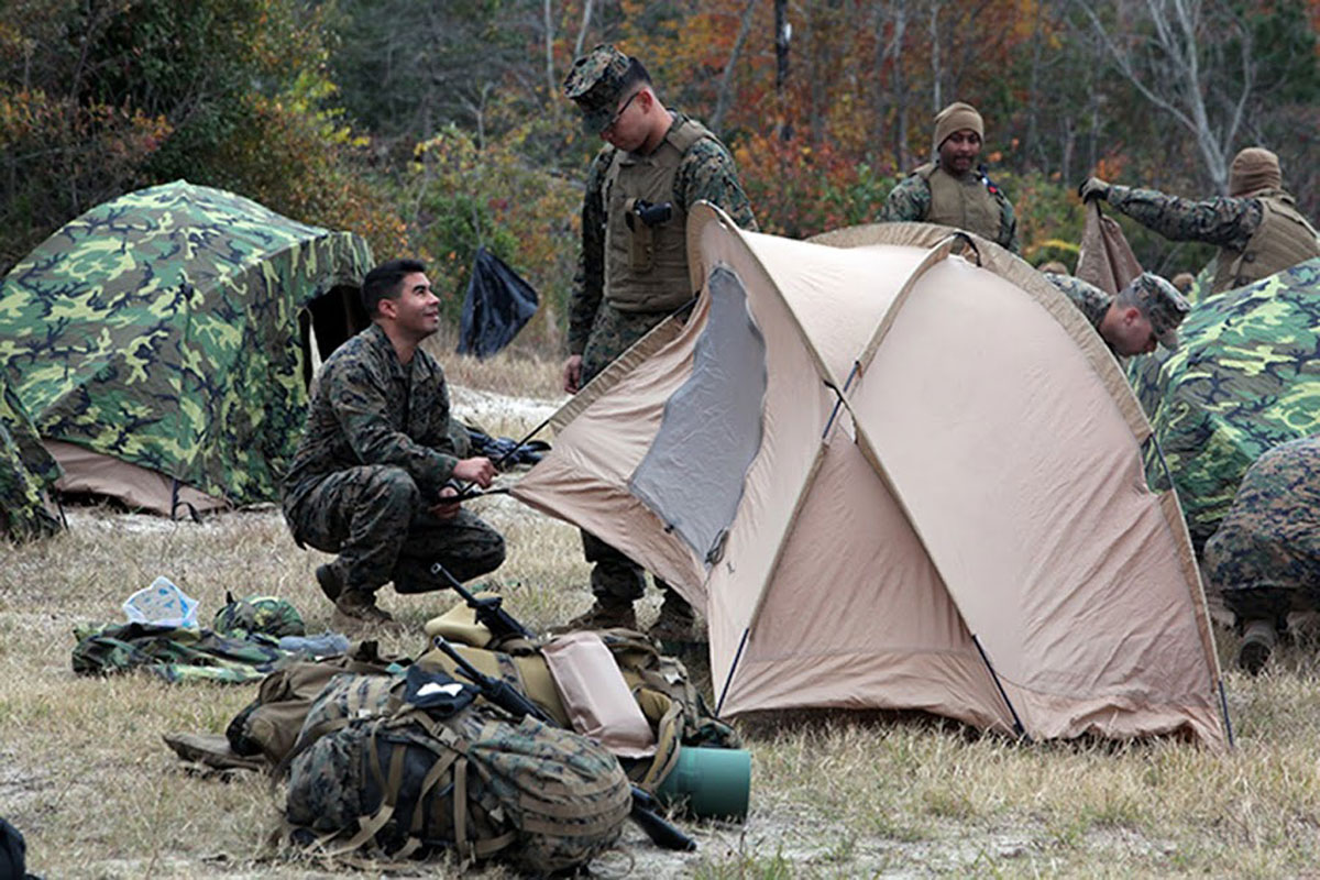 Marine Combat Tent Military Com