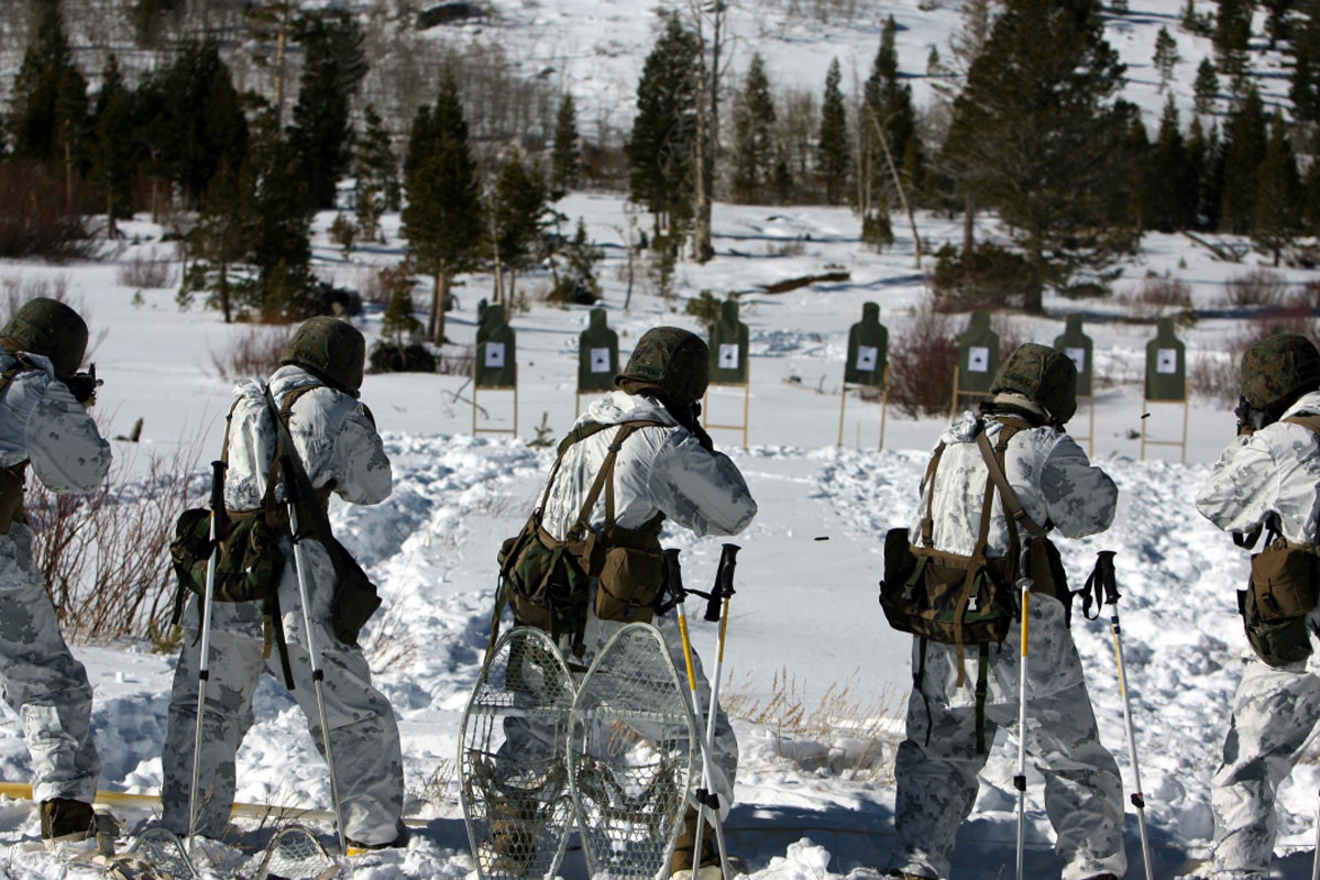 Personal Loans For Veterans >> Marine Snow Camouflage Uniform | Military.com