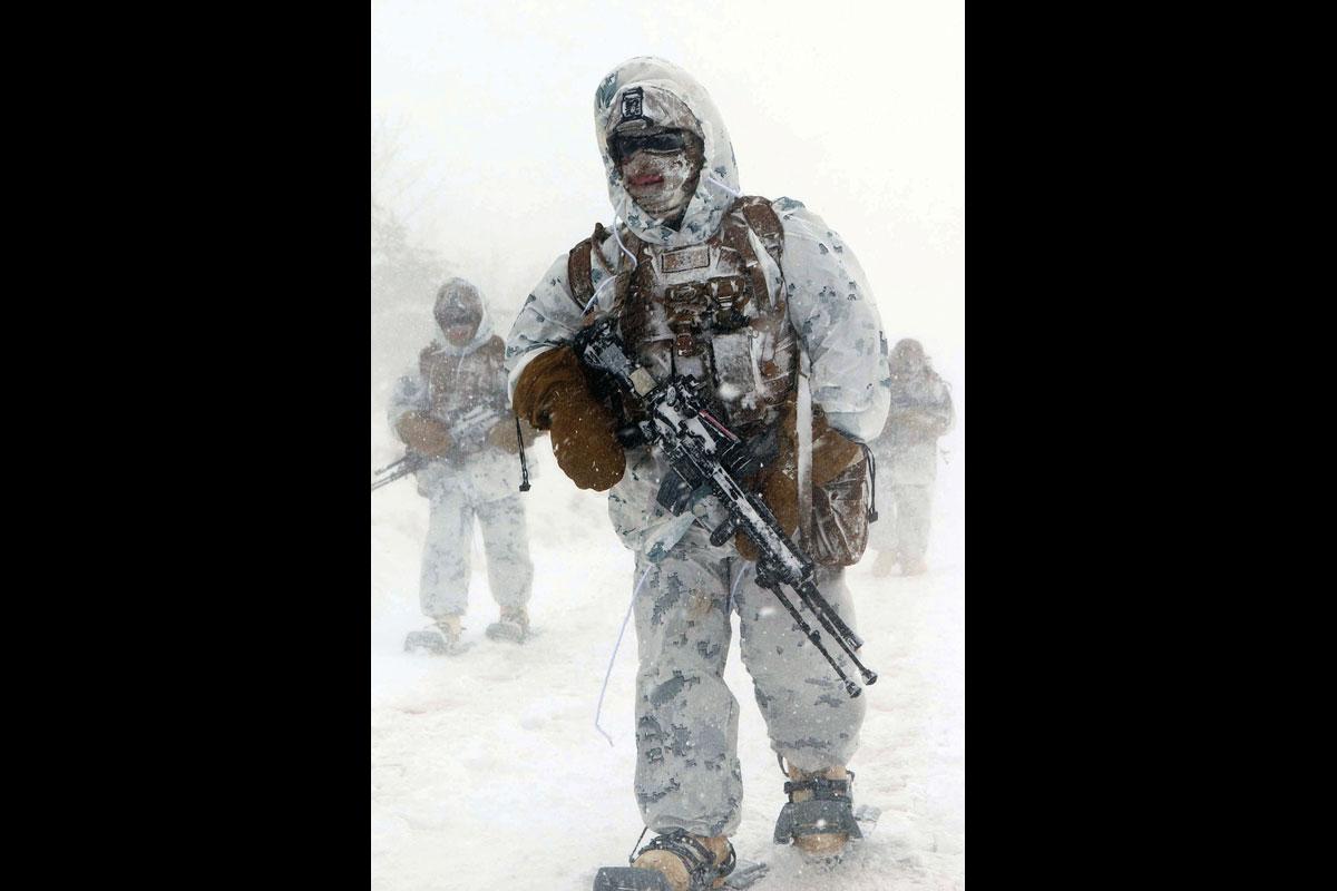 Marine Snow Camouflage Uniform Military Com
