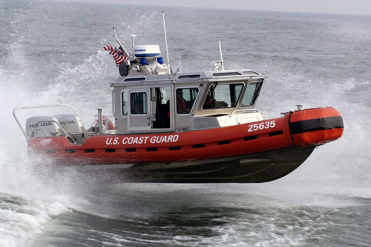25 Foot Defender Class Boat Military Com