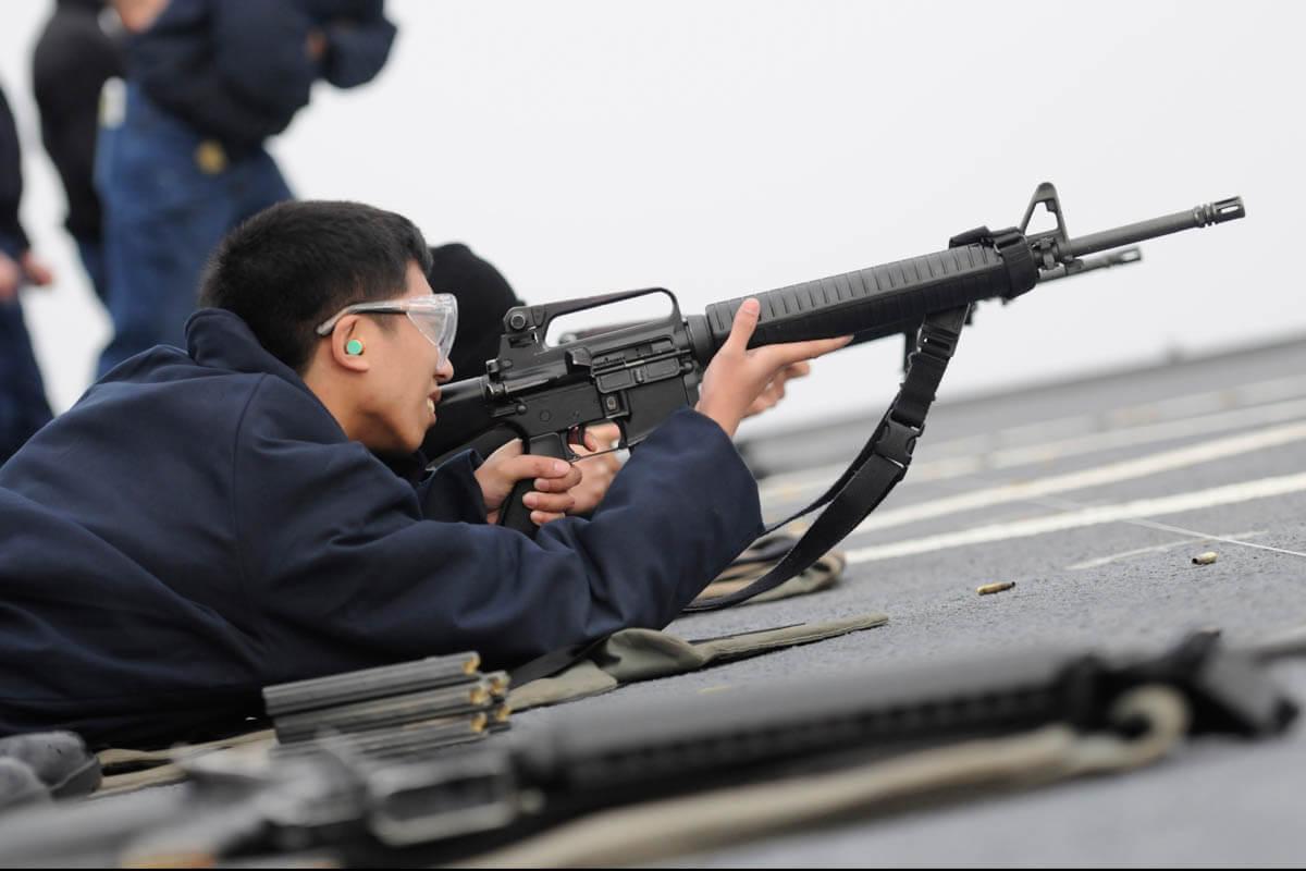 m16a2 5 56 rifle