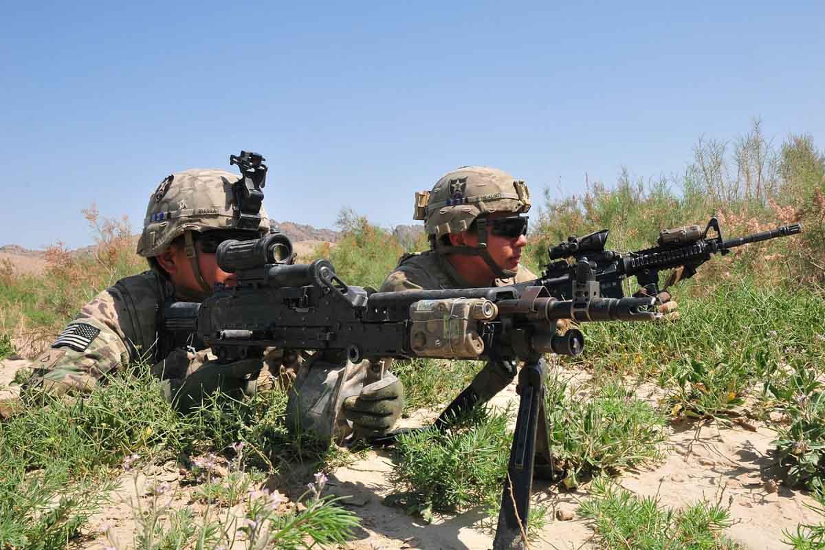 M249 Squad Automatic Weapon | Military.com