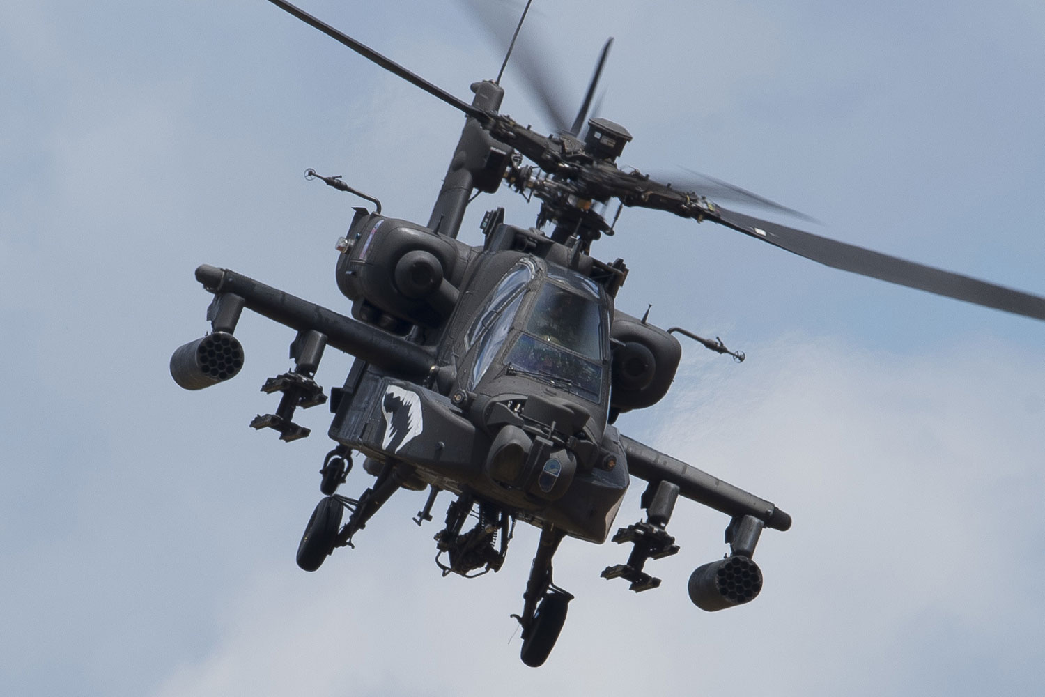 Fort Bragg Cavalry Squadron Adds First Apache Helicopters ...