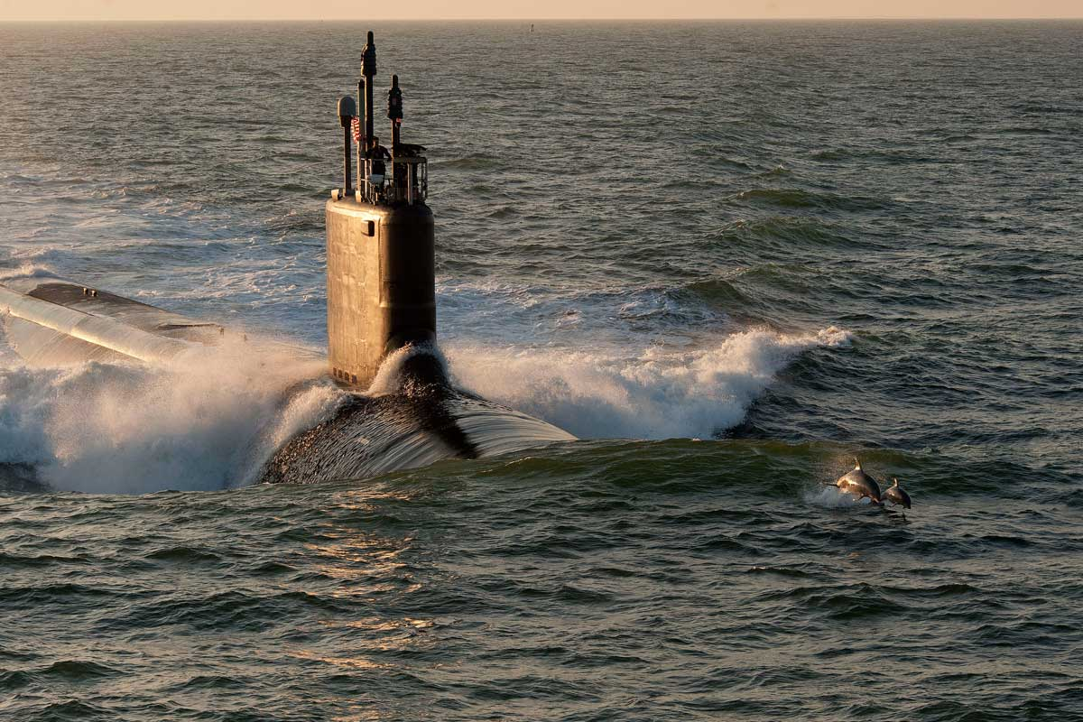 Virginia Class Attack Submarine - SSN | Military.com
