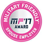 Military Friendly Spouse Employer 2017