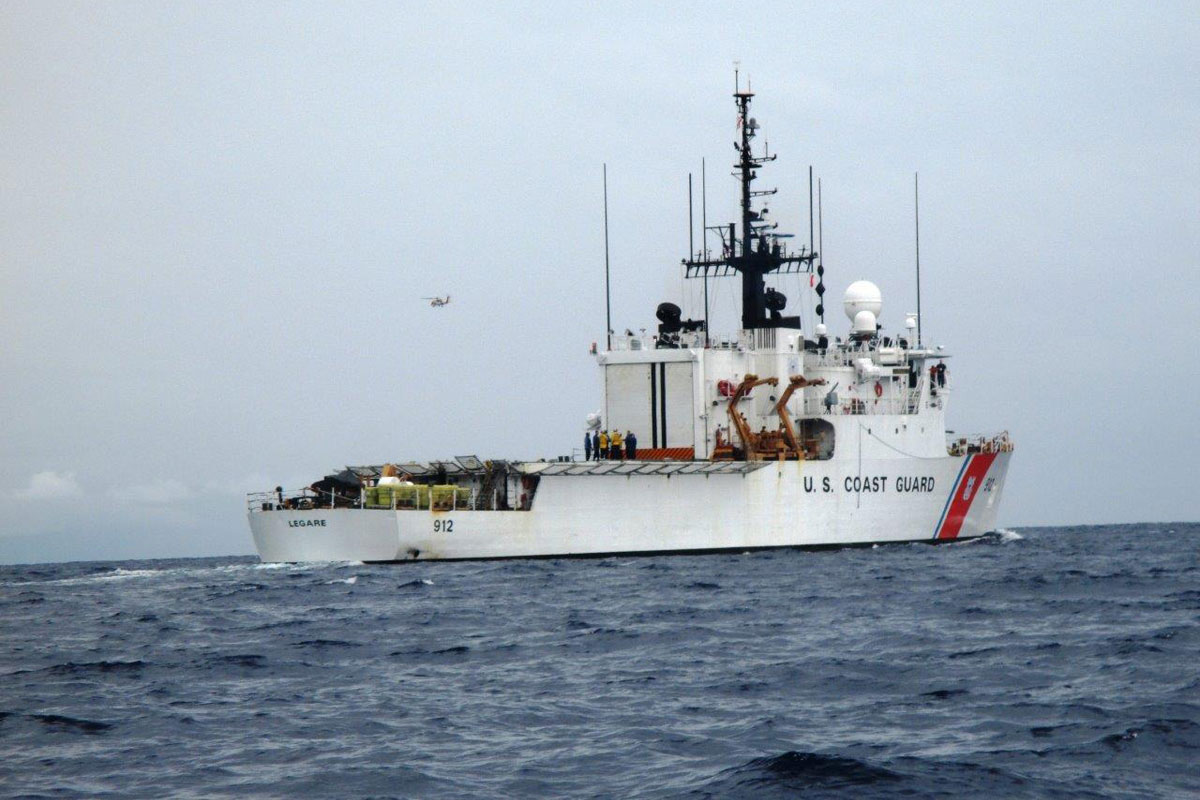 Coast Guard Delivers 13 Tons of Seized Drugs to Port Everglades