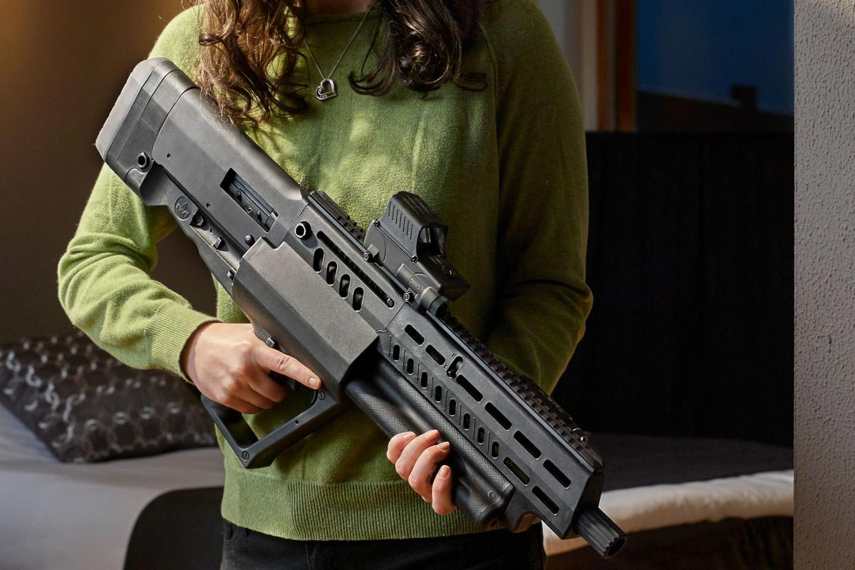 israel weapon industries just entered the tactical shotgun