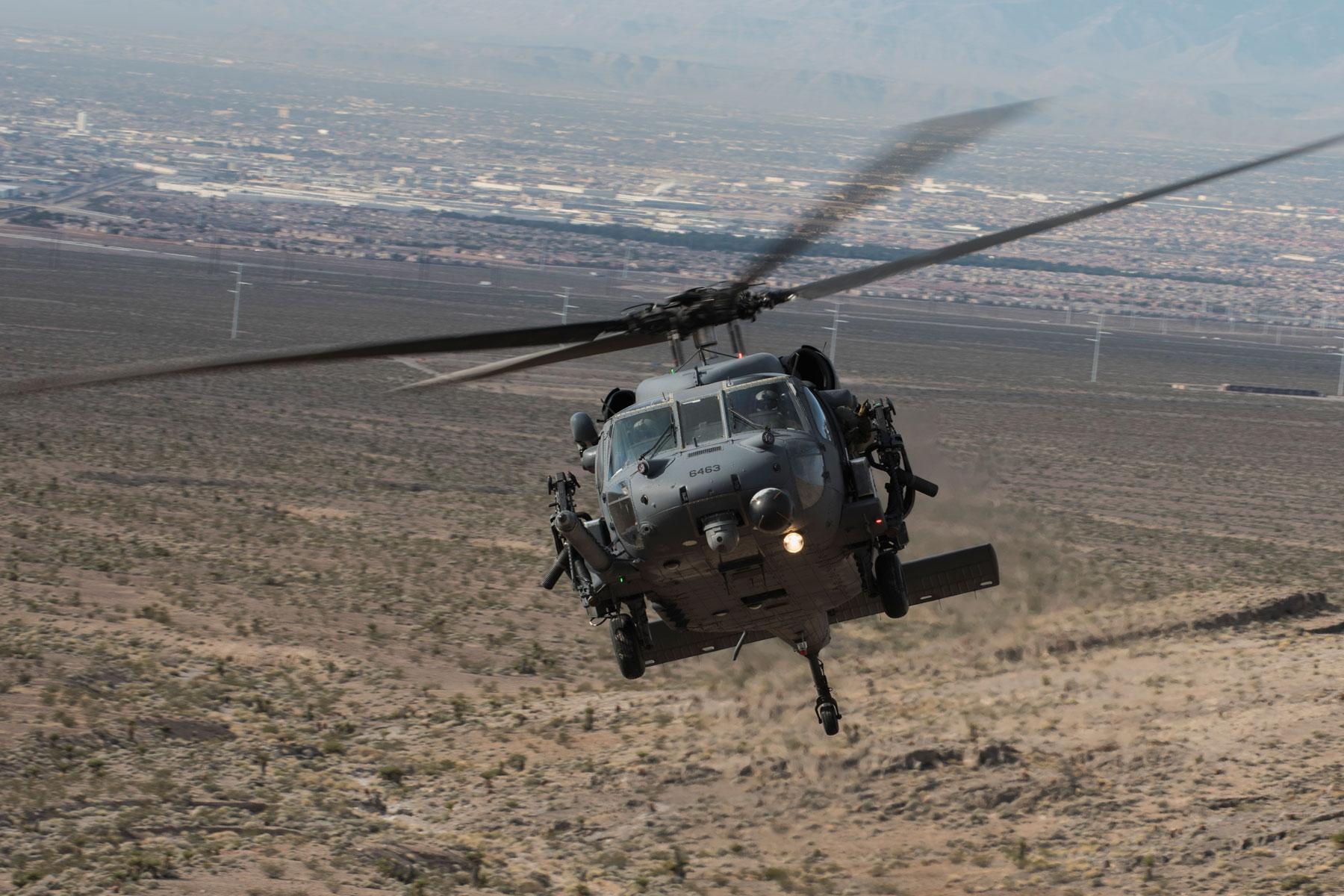Us Hh 60 Pave Hawk Crash In Western Iraq Kills All On