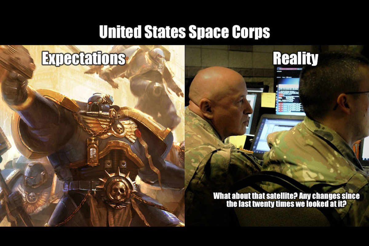 American Ranger Security >> 9 Memes to Get You Hyped for the Space Corps | Military.com