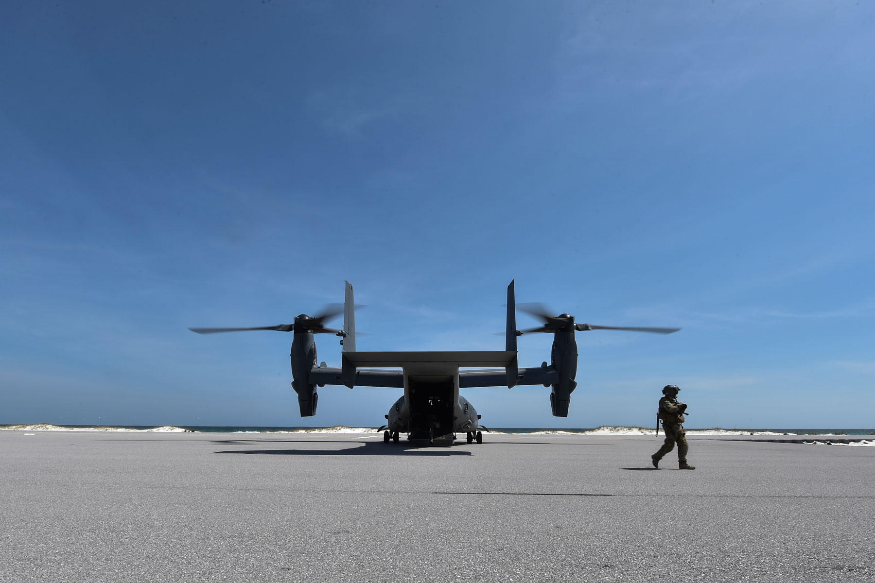 The Military Still Wants a Belly Gun for the V-22 Osprey