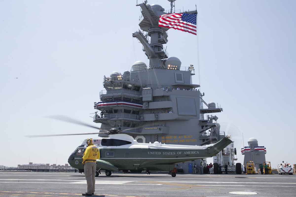 'Carriers at War': Navy Veteran Bryan McGrath Makes the Case for Aircraft Carriers