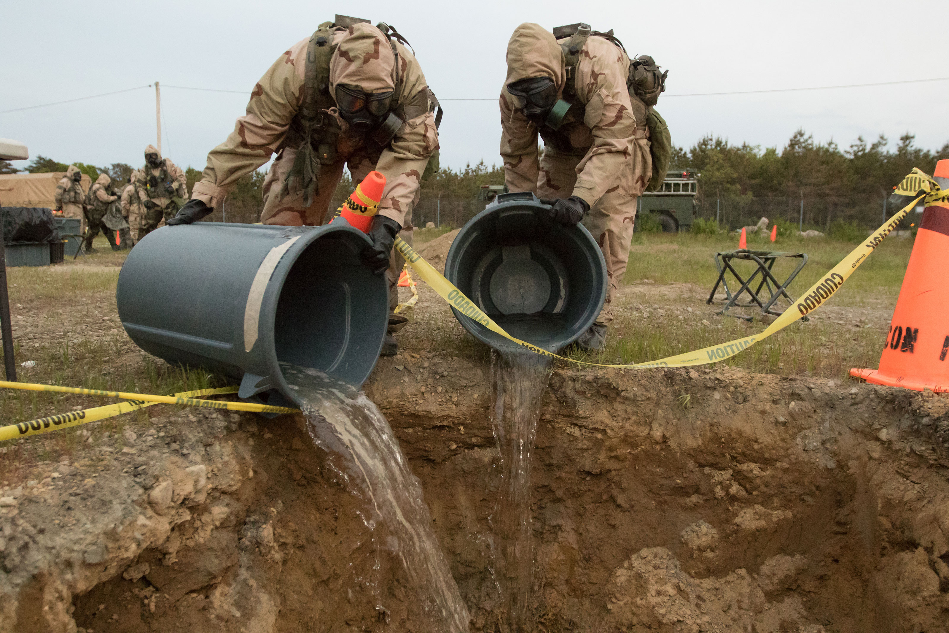 The US Won't Admit Just How Badly It Poisoned Military Base Water