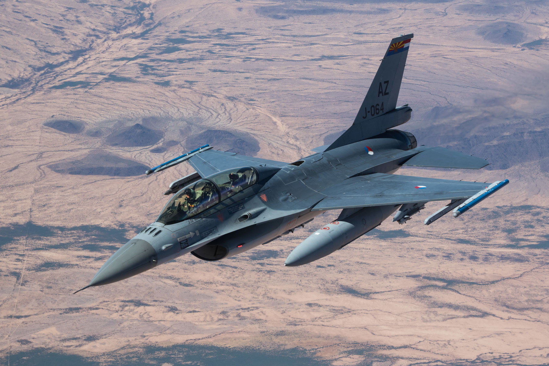 Air Force Wants to Boost F-16 Flights at Tucson Airport