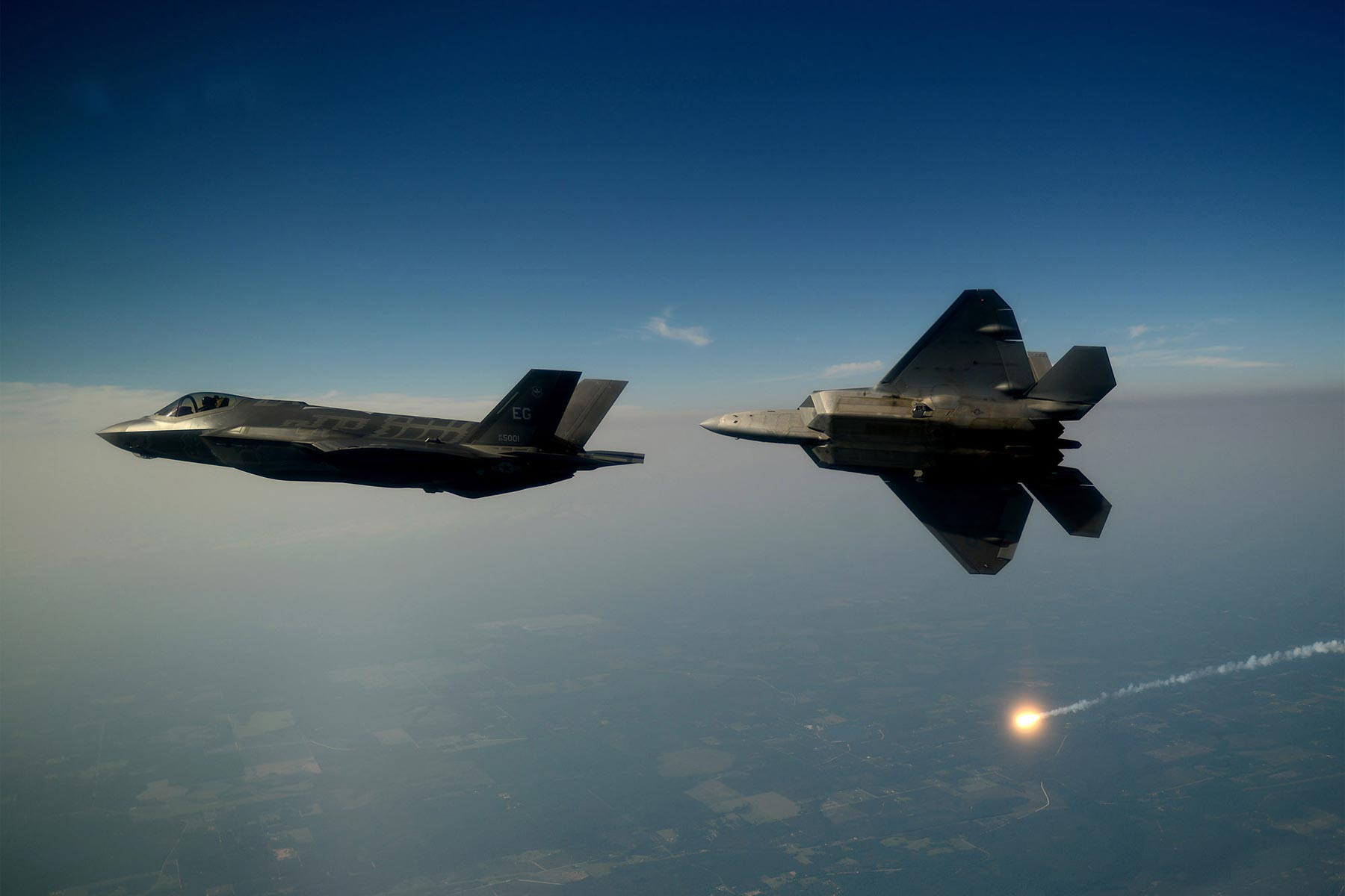 After Successful Data Transfer Between F-35 and F-22, Air Force Plans New Tests | Military.com
