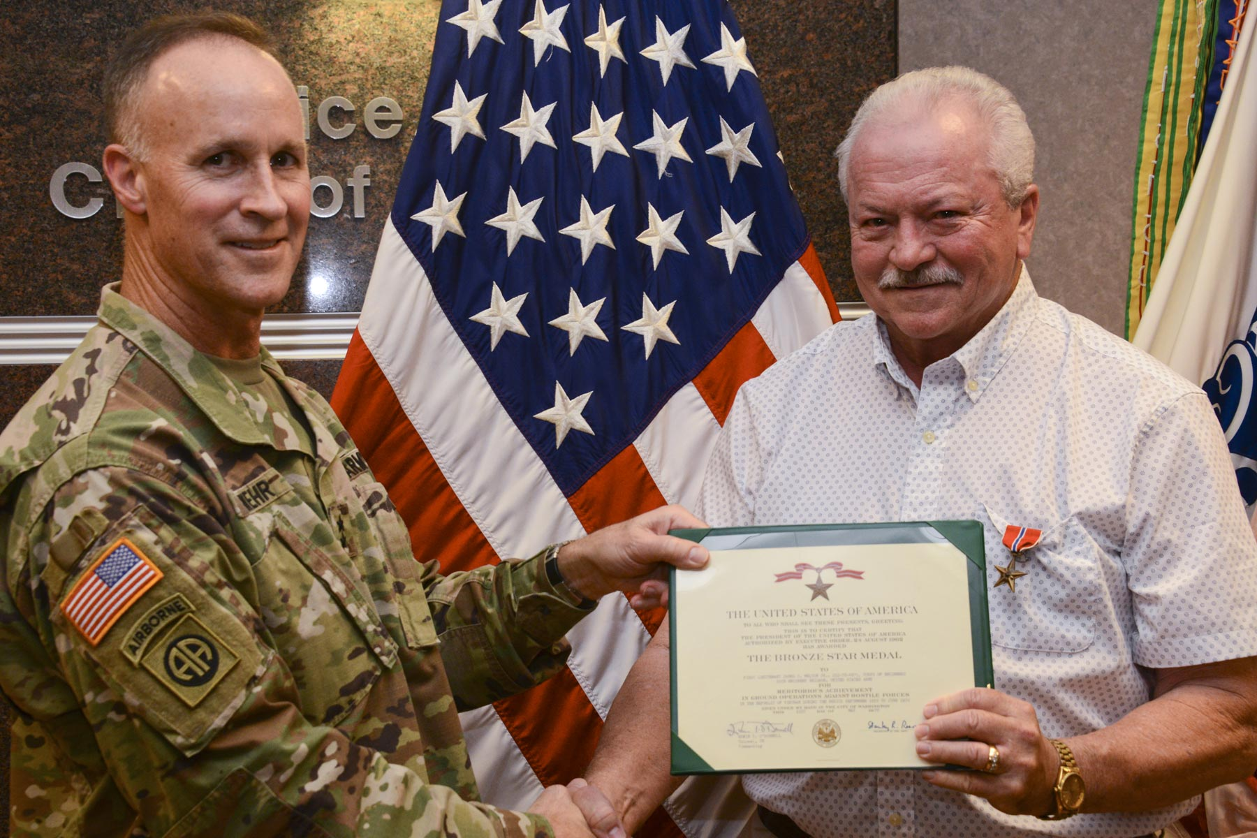 Vietnam Veteran Is Finally Presented Bronze Star Medal