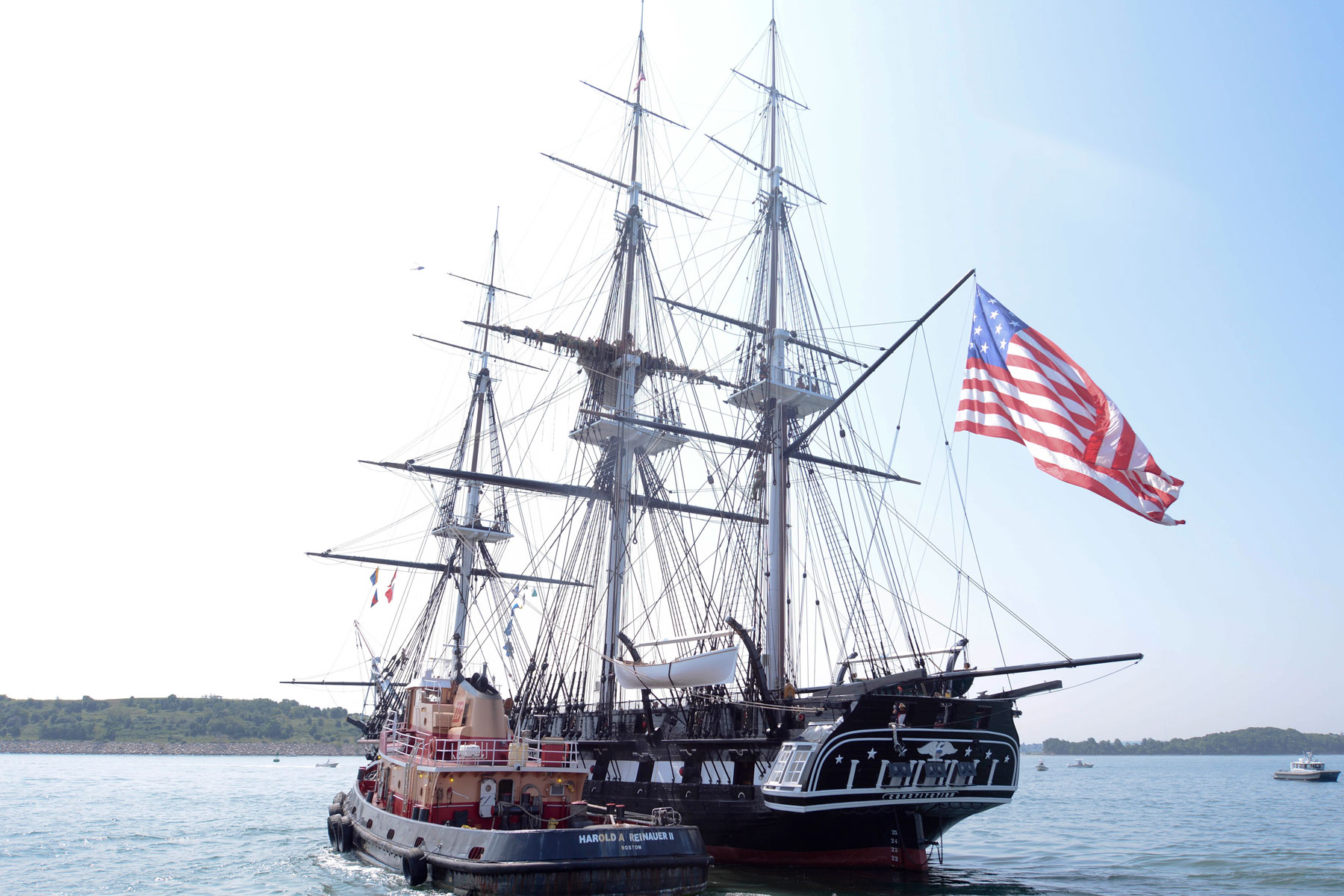 Historic Navy Warship USS Constitution to Mark 9/11 ...Uss Constitution Pictures