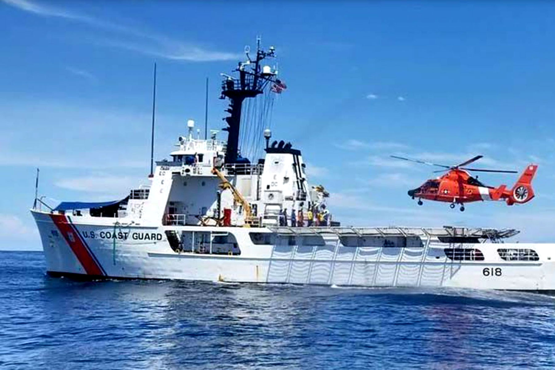 87m Worth Of Cocaine Seized By 52 Year Old Coast Guard