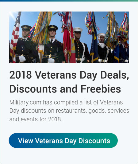 2018 Veterans Day Deals & Events