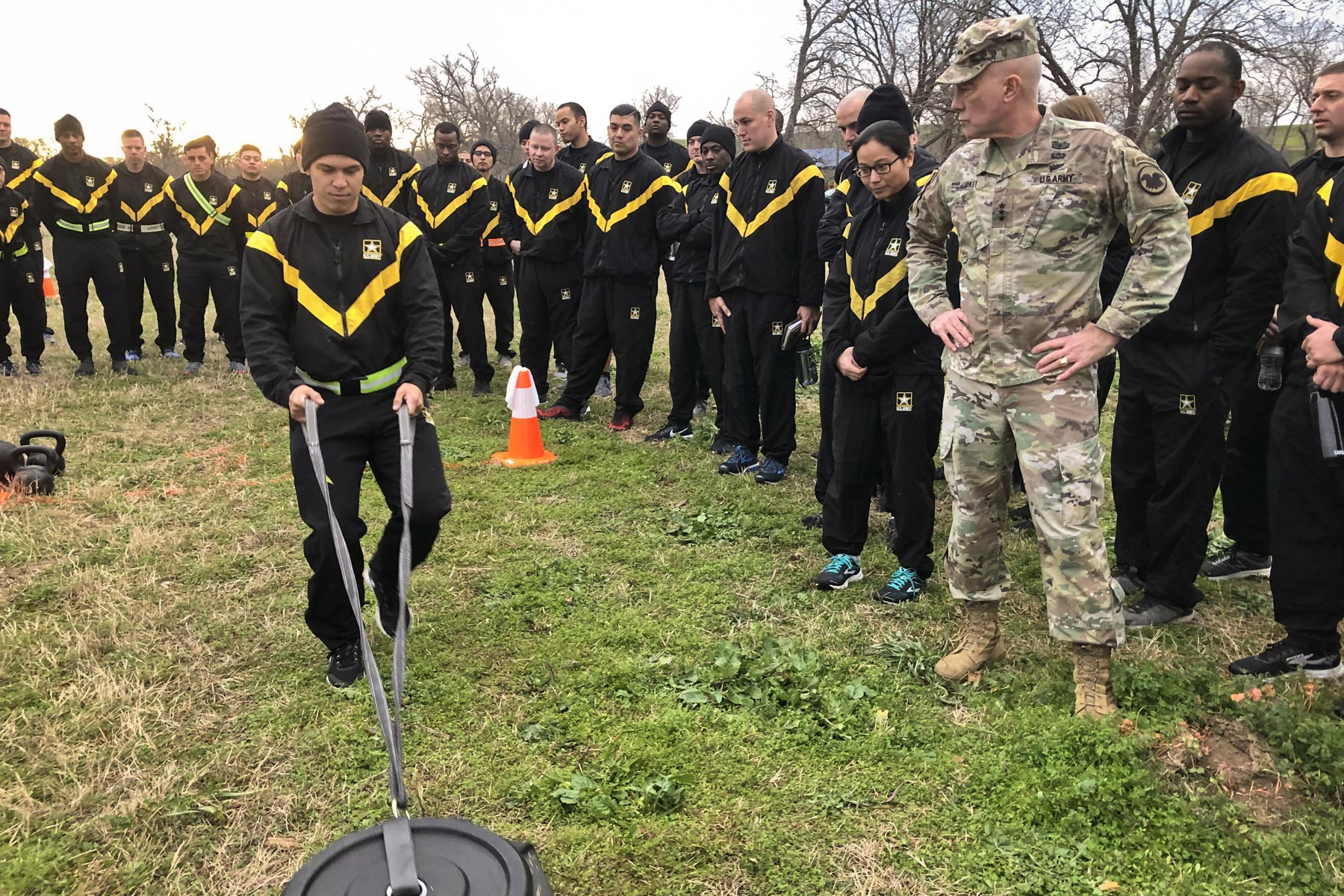 Army 3 Star Reserve May Not Be Ready For New Fitness Test