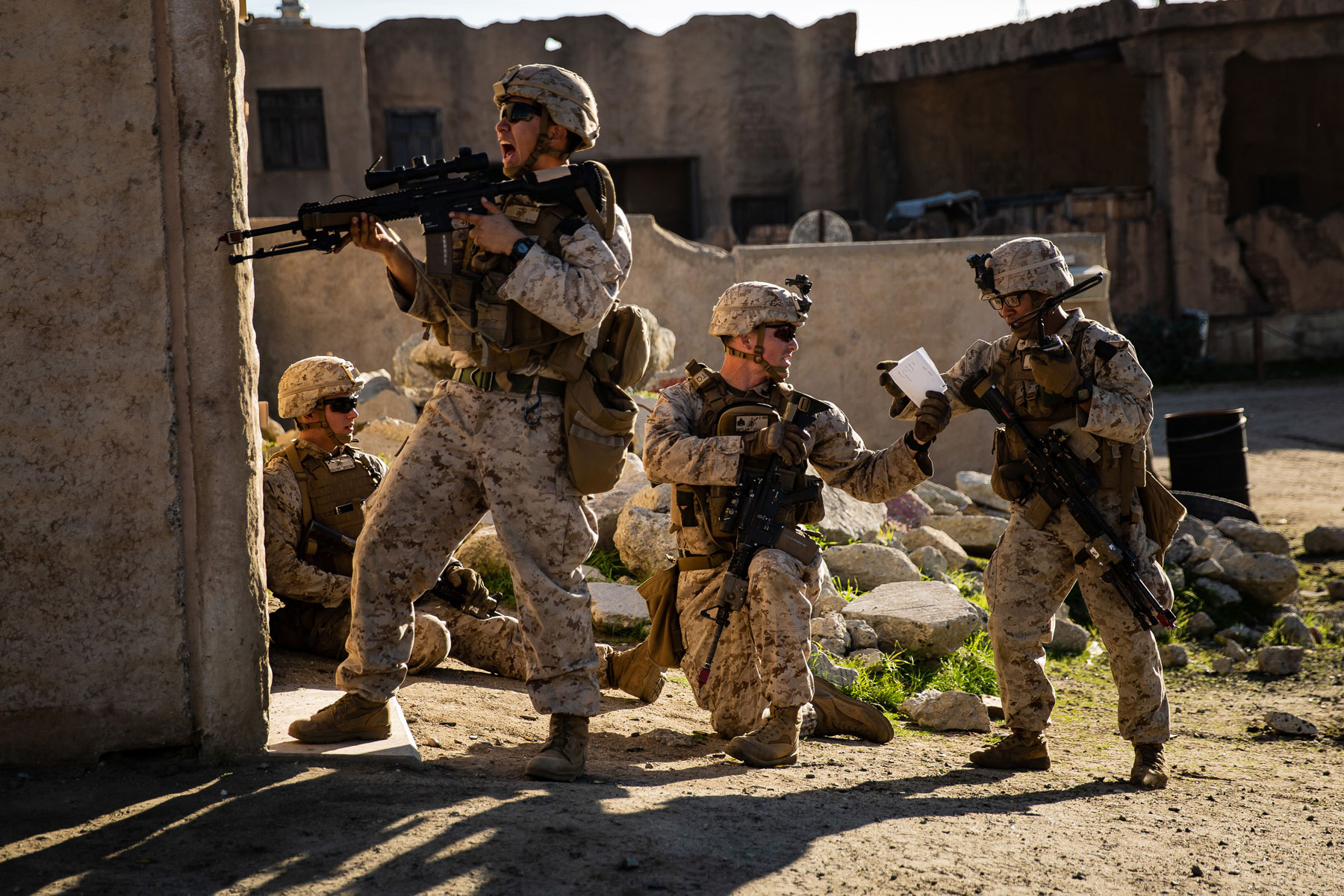 Retired General: Train, Pay Army and Marine Infantry as an ...