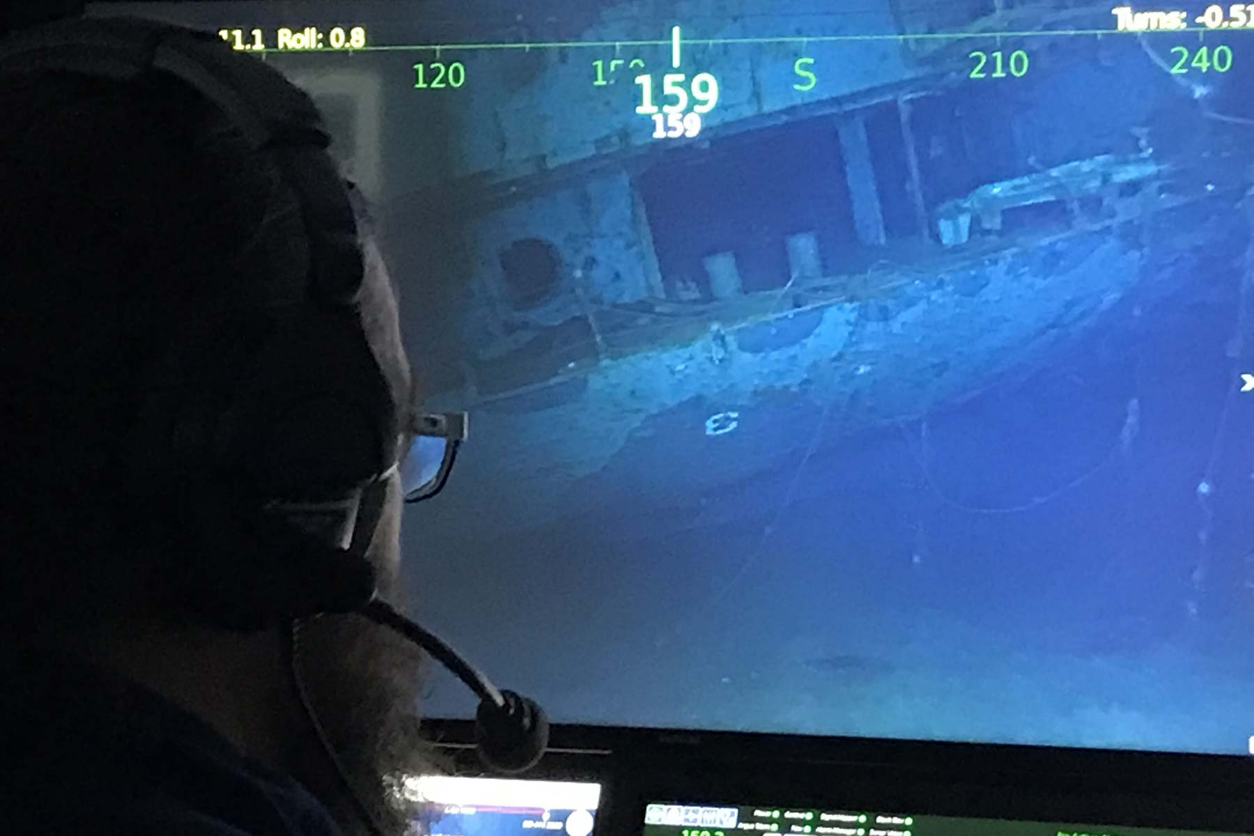 Wreck Of Wwii Aircraft Carrier Hornet Discovered In South