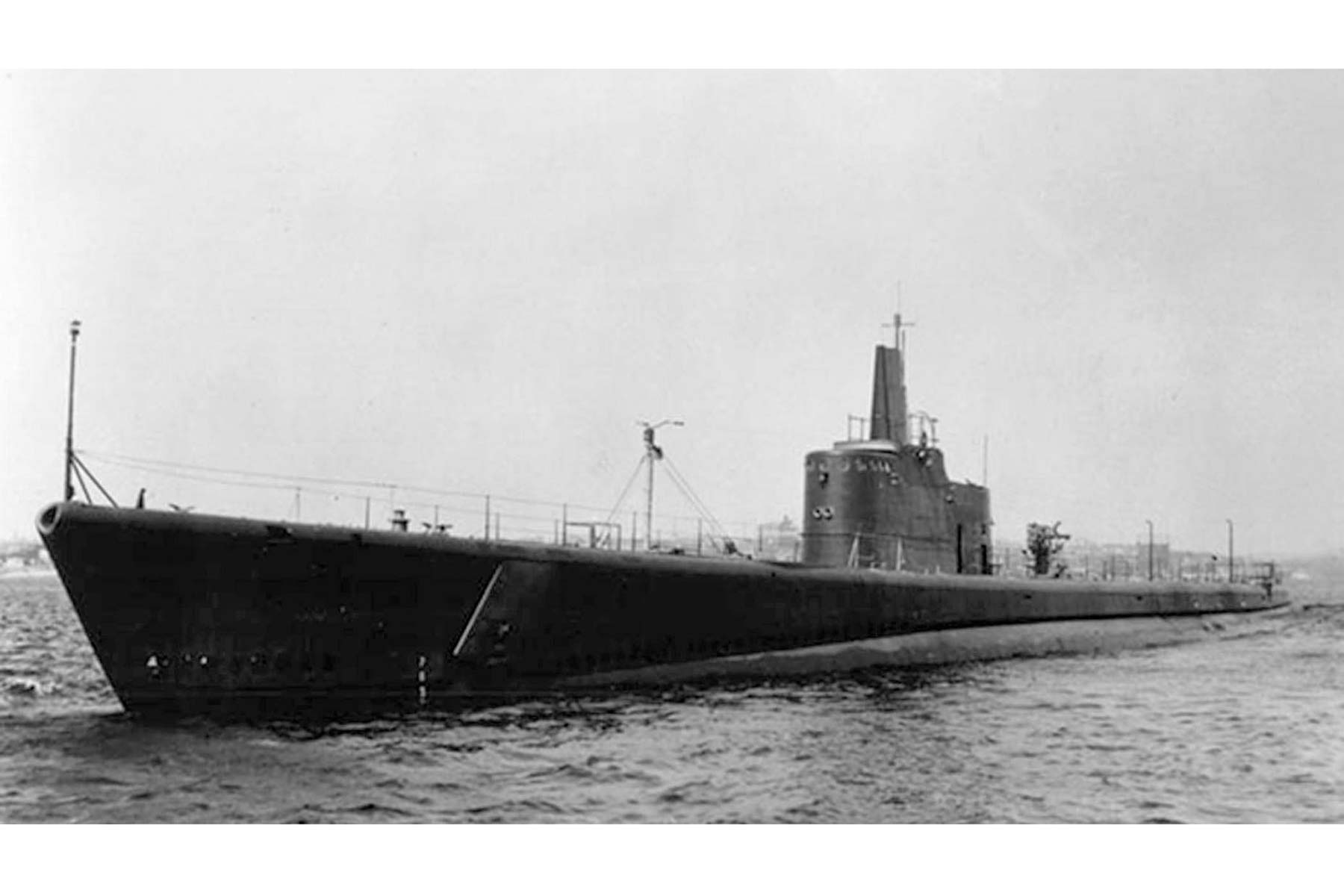Bow of WWII US Submarine Discovered Near Remote Alaskan Island