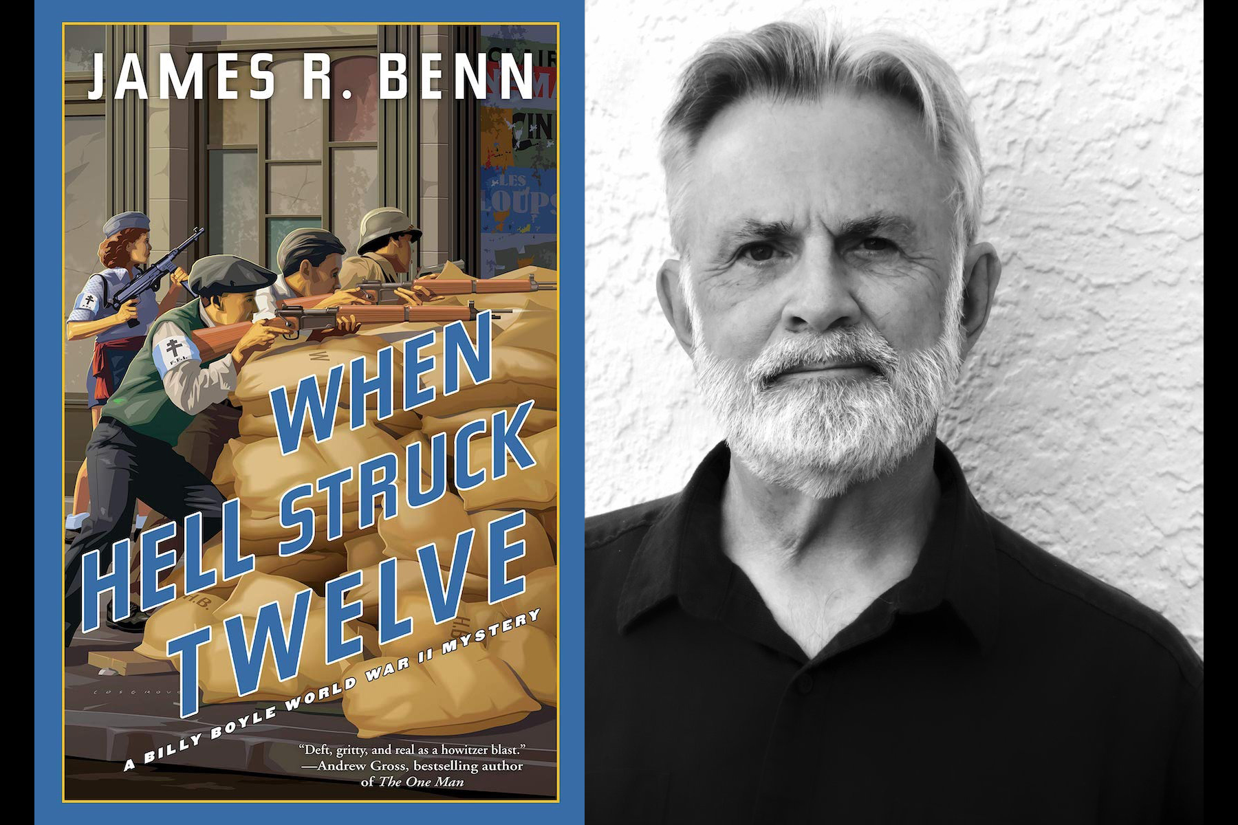 The Costs of War: James Benn's Latest Billy Boyle WWII Novel is Darker Story