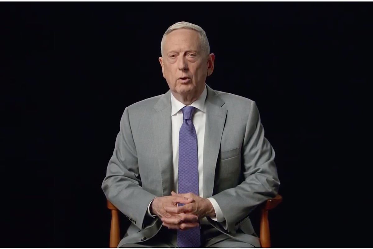 Jim Mattis Answers the 'Call of Duty'