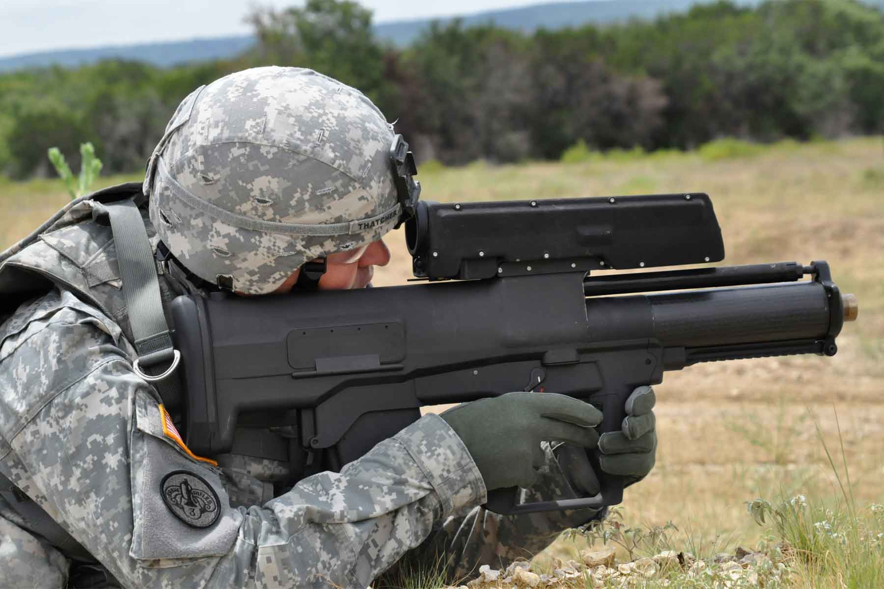 Army Tests Out Drone that Can Fire Grenades into Enemy Hideouts