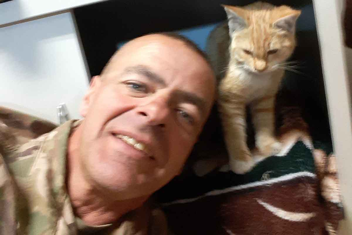 Afghan Dan delaware soldier fundraising to bring his cat home from