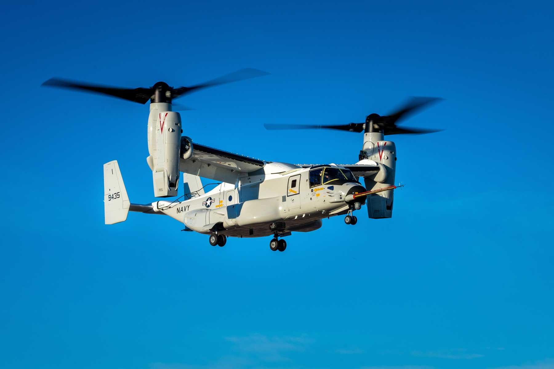 V 22 Osprey Designed For The Navy Makes First Flight