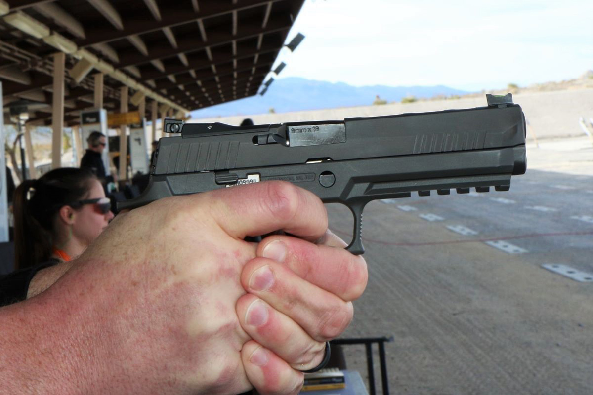 Sig Sauer's New XFive Legion Pistol Is Designed for Lightest Possible Recoil