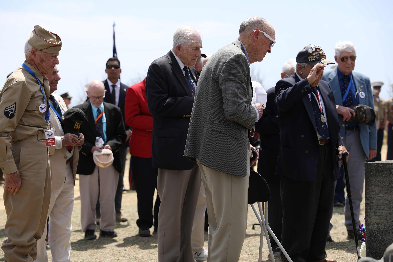 Marine Corps Cancels Reunion of Iwo Jima Veterans over Coronavirus Fears