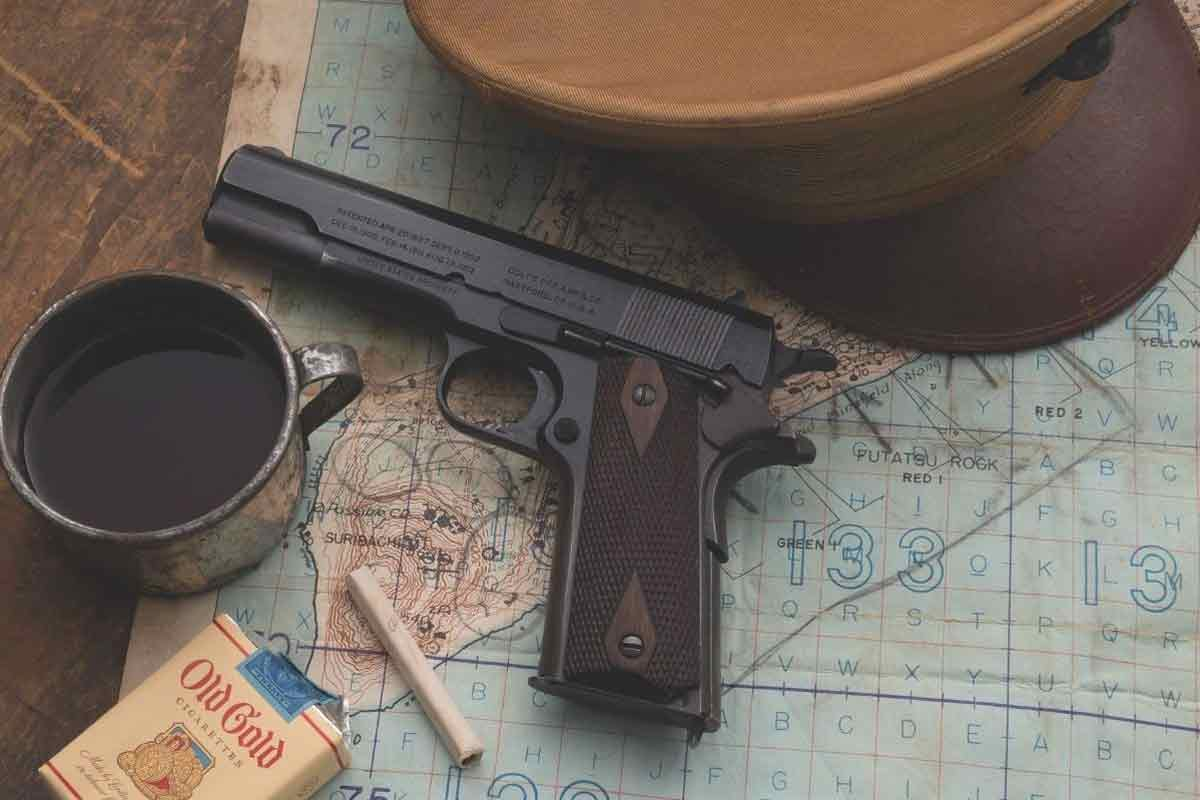 This Historic Colt 1911 Pistol Carried at Iwo Jima Is About to Go Up for Auction