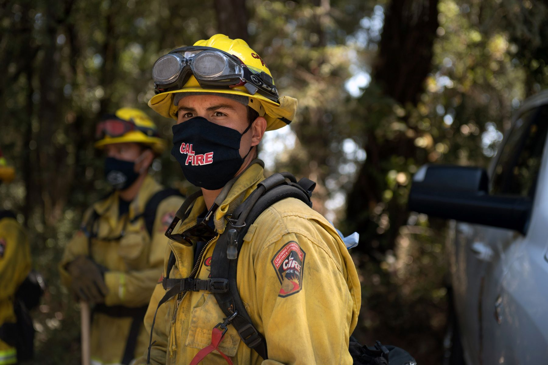 California National Guard Assists in Sierra Fire Rescue Operation    Military.com