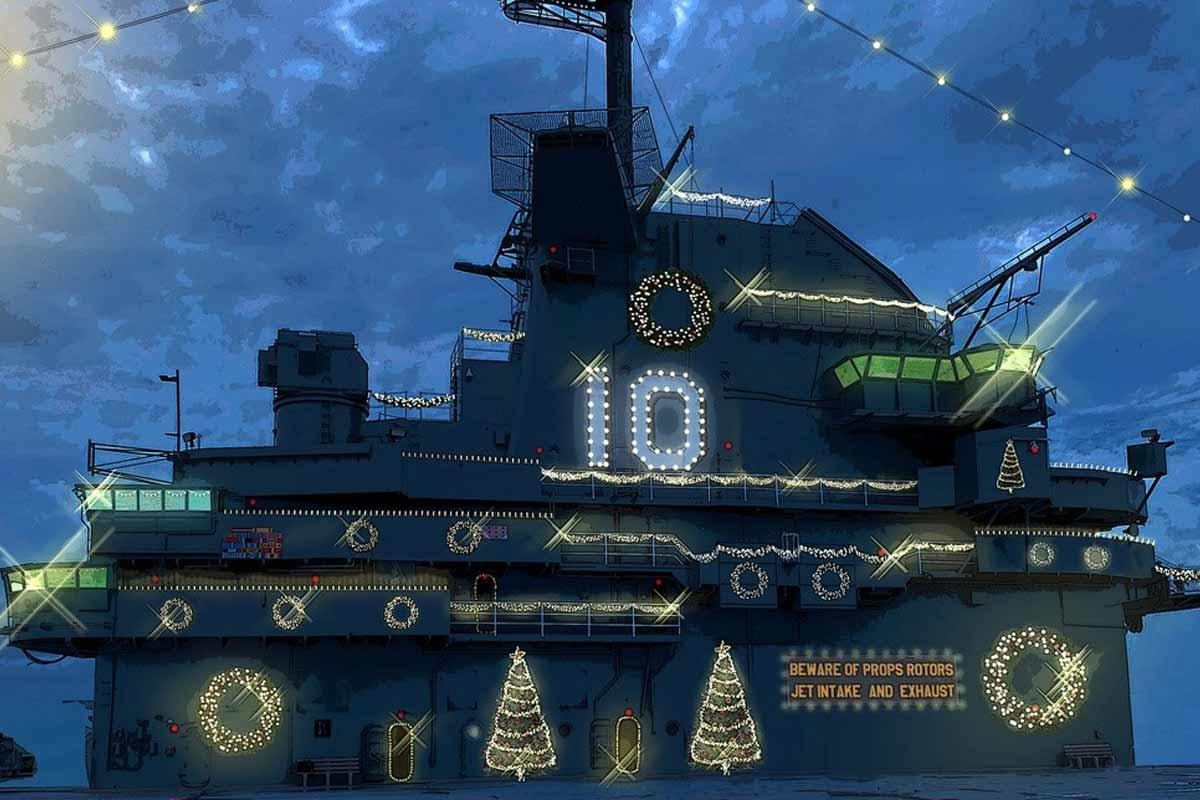 Are The Ships At Norfolk Naval Base Decorated For Christmas 2020 Hallmark Wants Sailors to Be Extras in Navy Themed 'USS Christmas