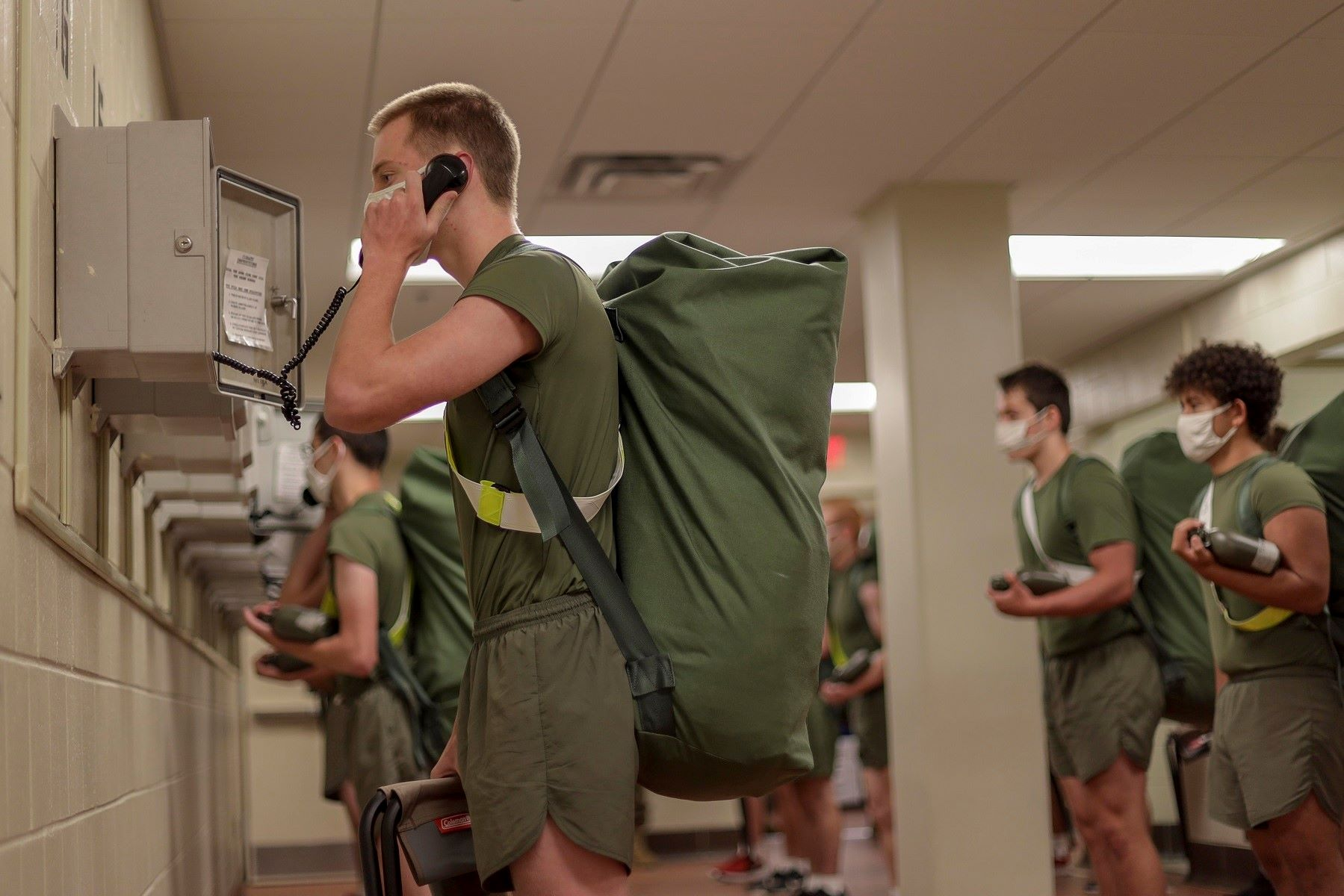 Acclimation Period Before Marine Corps Boot Camp Could Stave Off 'Recruit Crud'