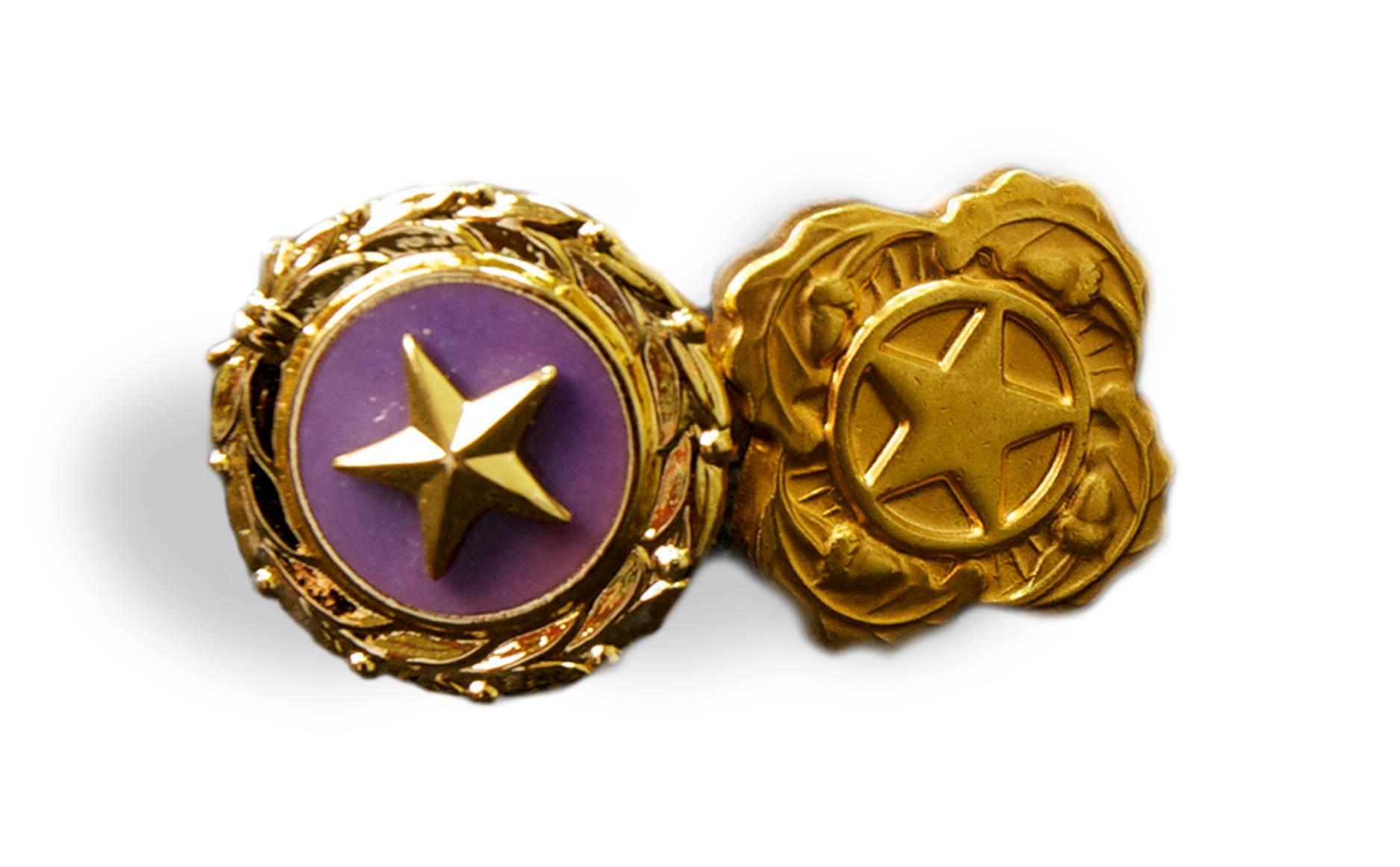Gold Star Lapel Buttons | Military com