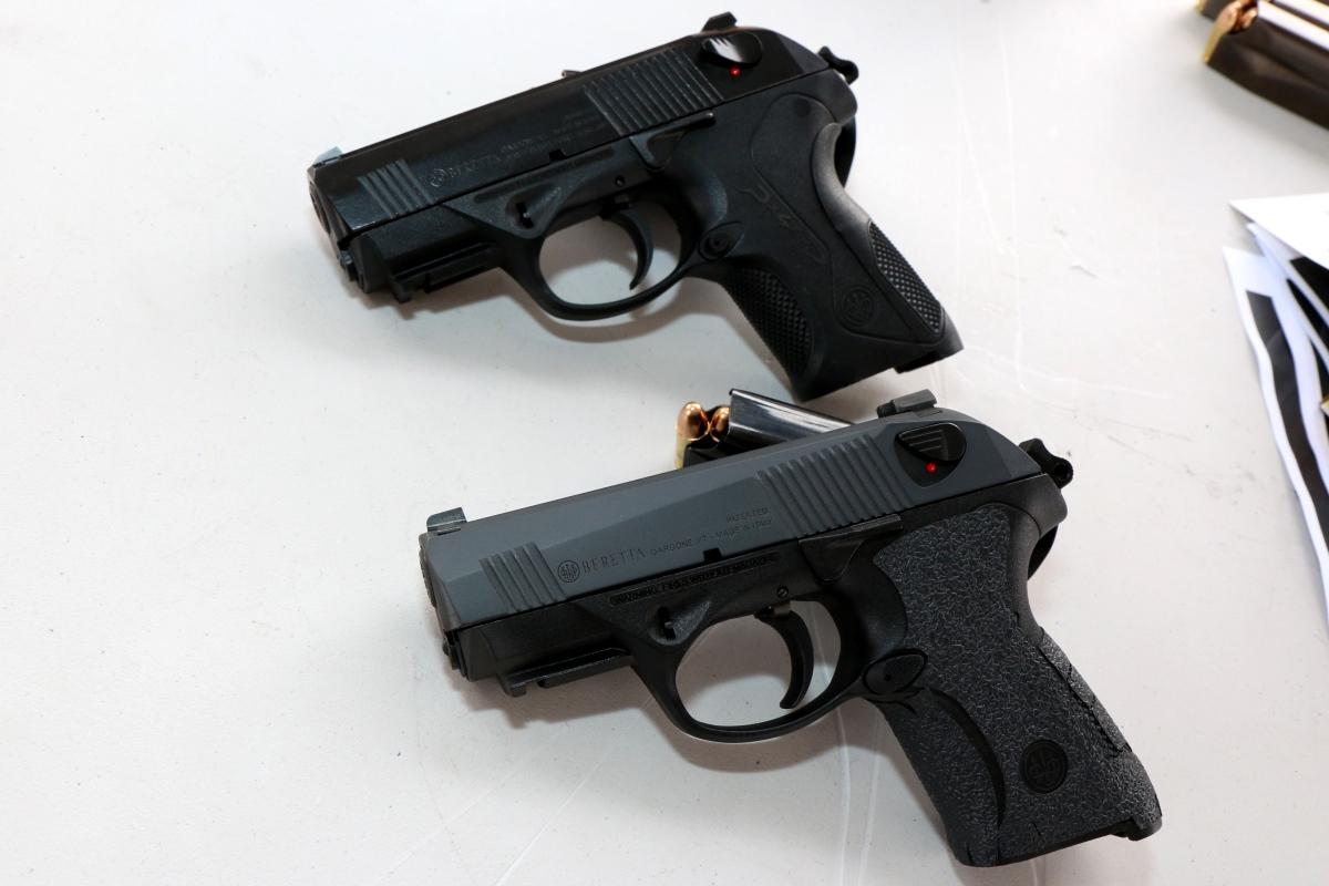 beretta unveils improved compact 9mm pistol