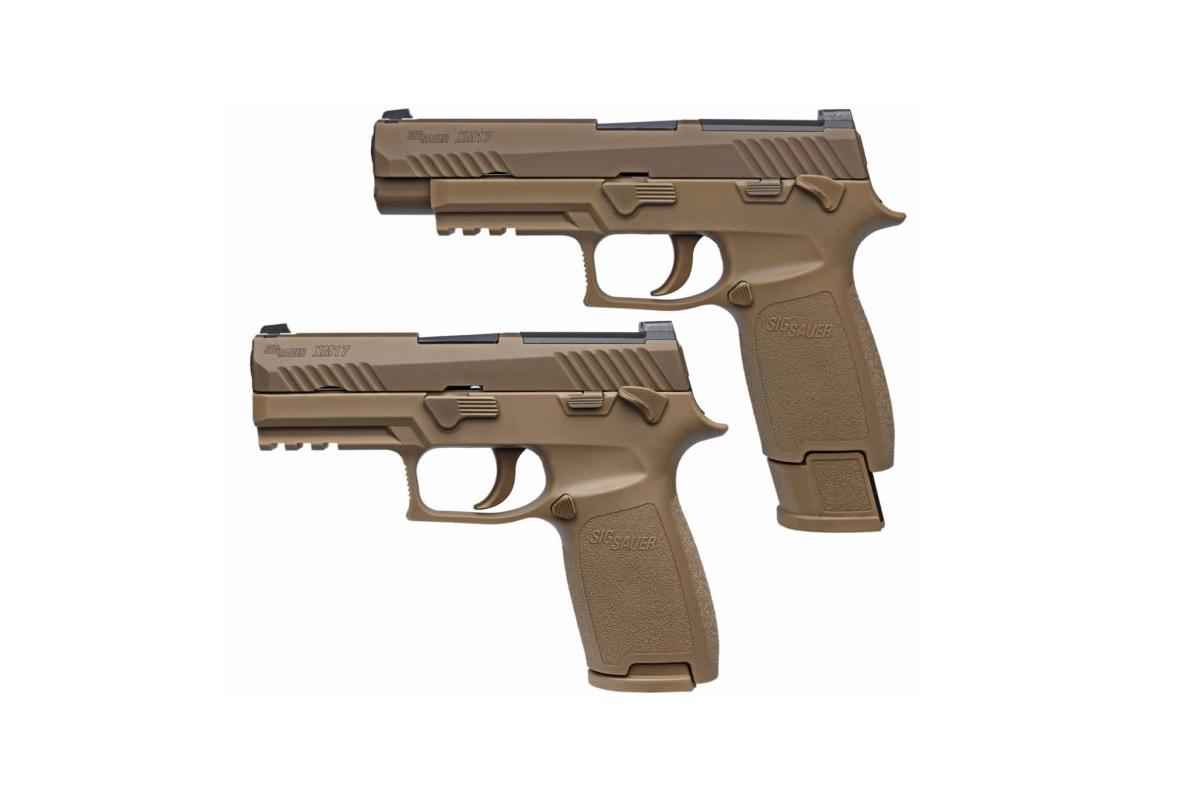 Army Picks Sig Sauer's P320 Handgun to Replace M9 Service
