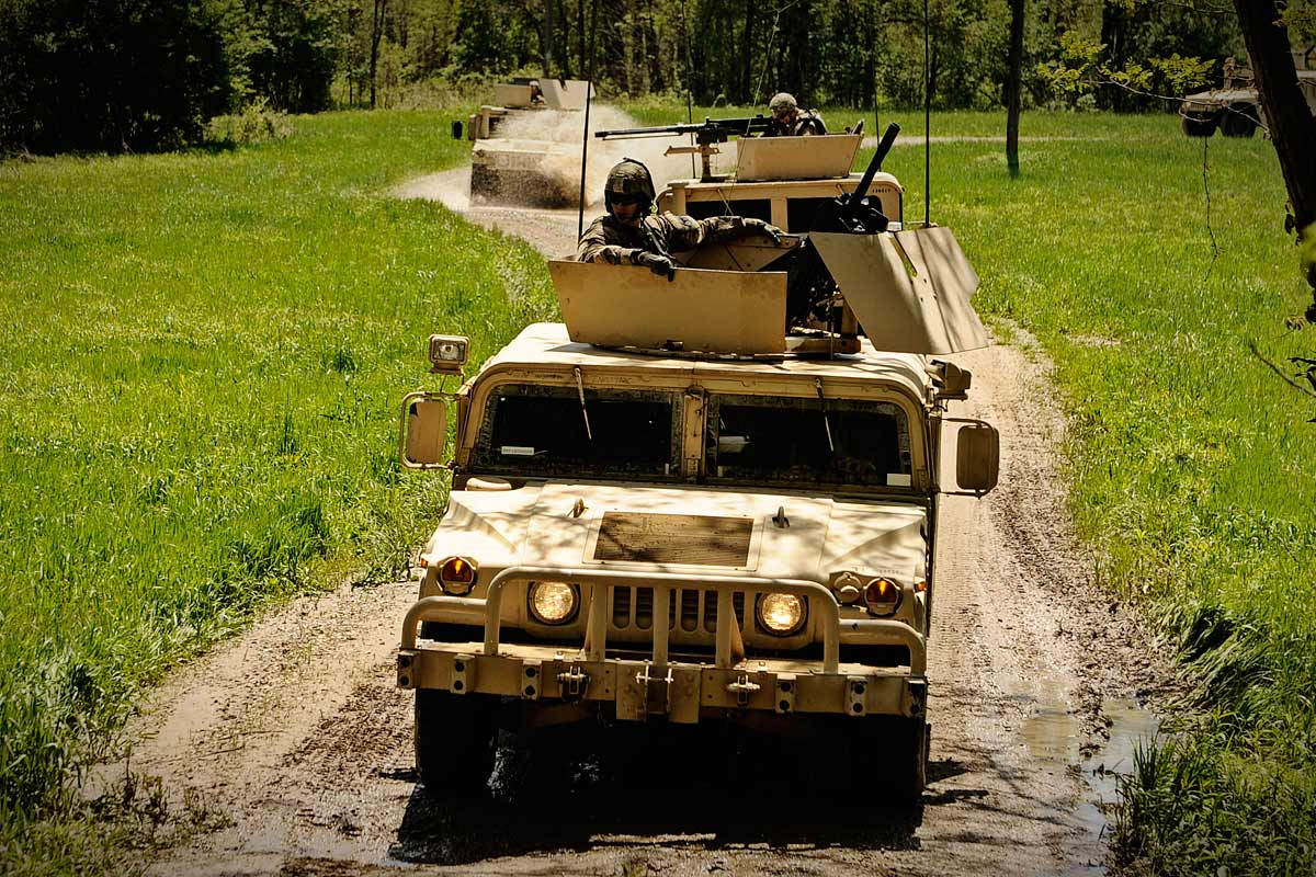 High Mobility Multipurpose Wheeled Vehicle (HMMWV ...