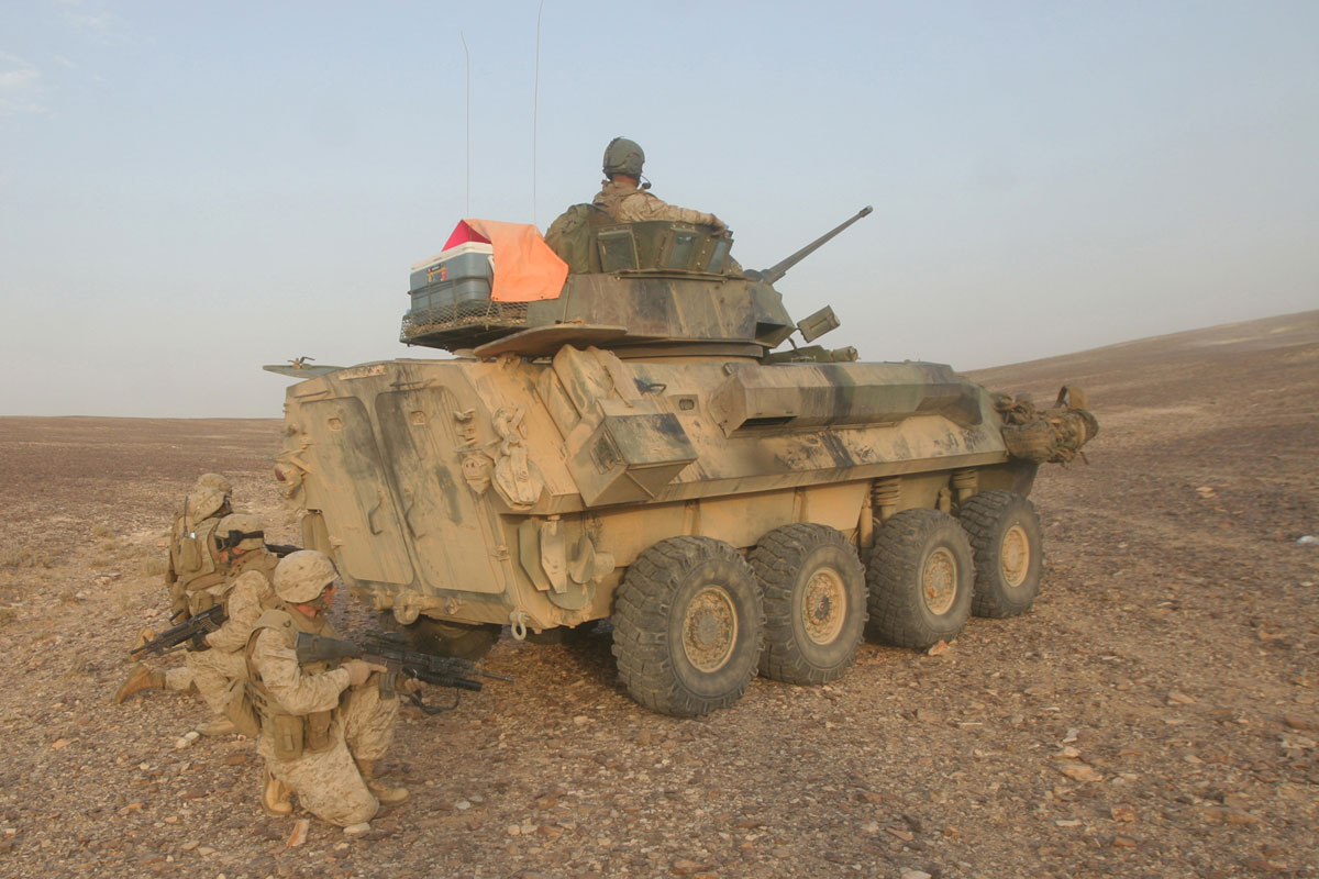 LAV 25 Light Armored Vehicle
