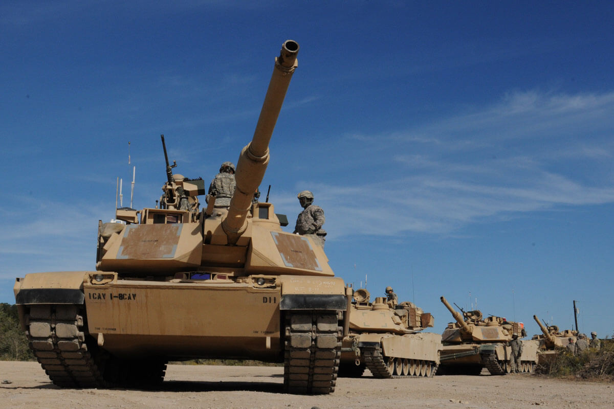 M1A2 Abrams Main Battle Tank