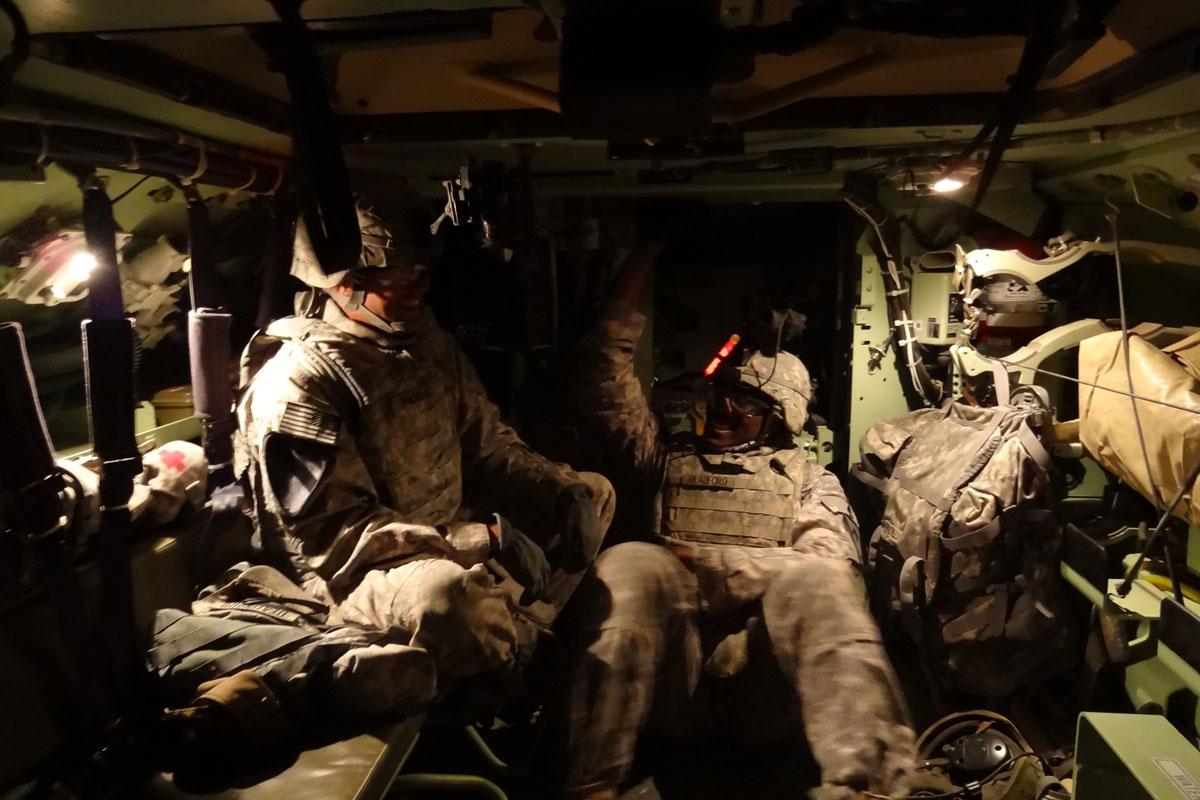 M2 M3 Bradley Fighting Vehicle Military Com