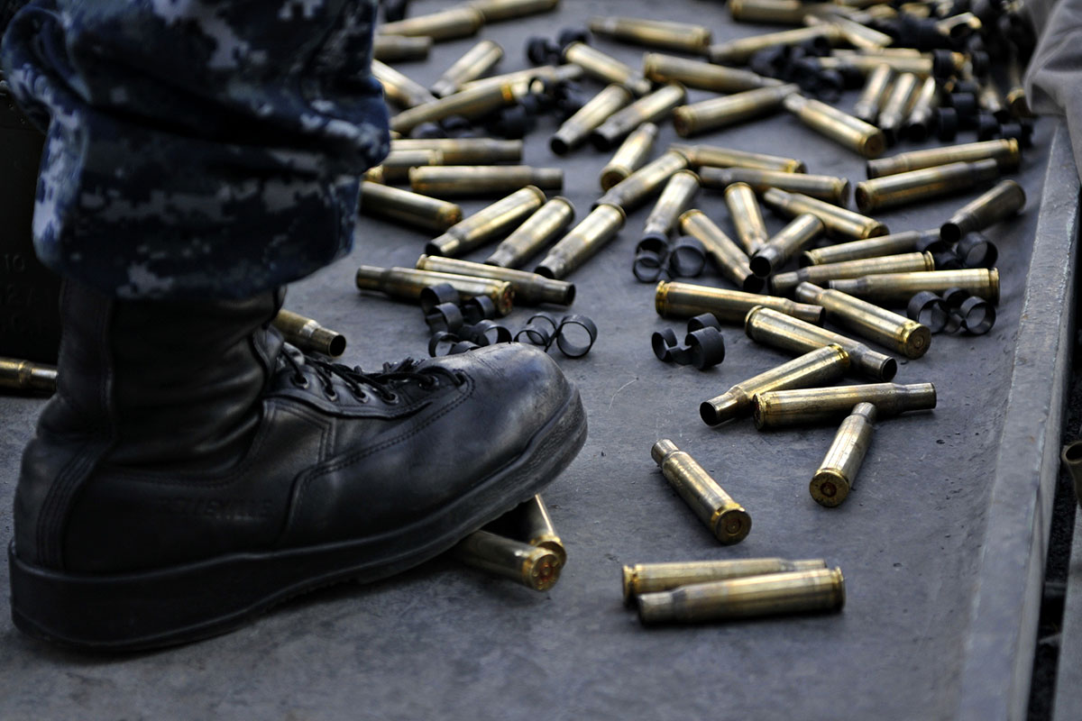 Dod selling spent brass to china