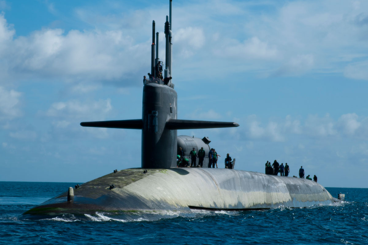 Ohio Class Guided Missile Submarine SSGN