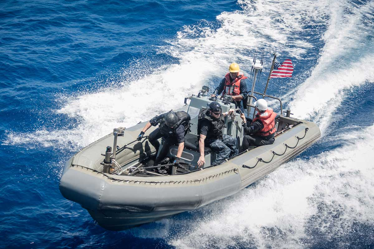 Rigid Hull Inflatable Boat | Military com