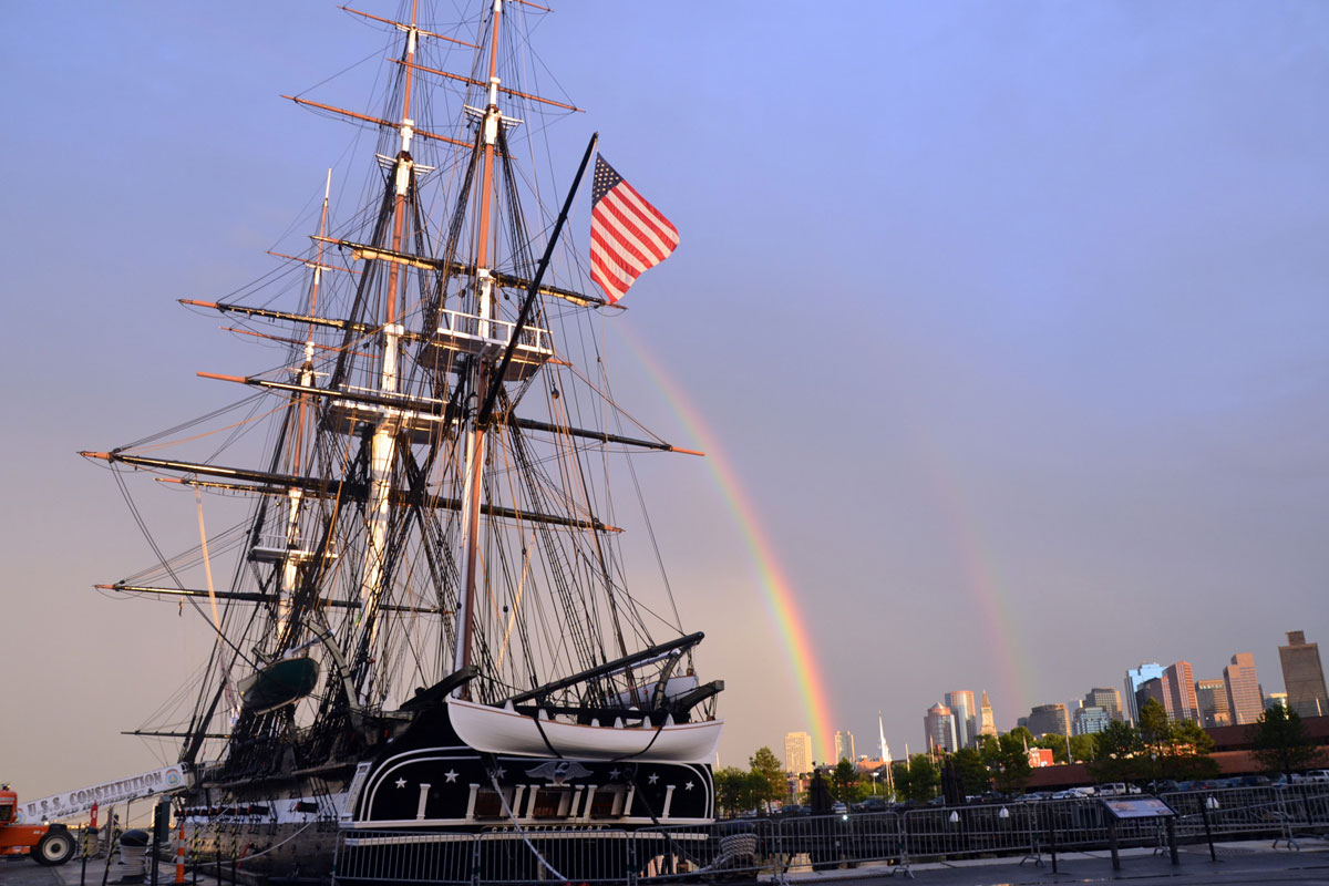 Uss Constitution Old Ironsides Military Com