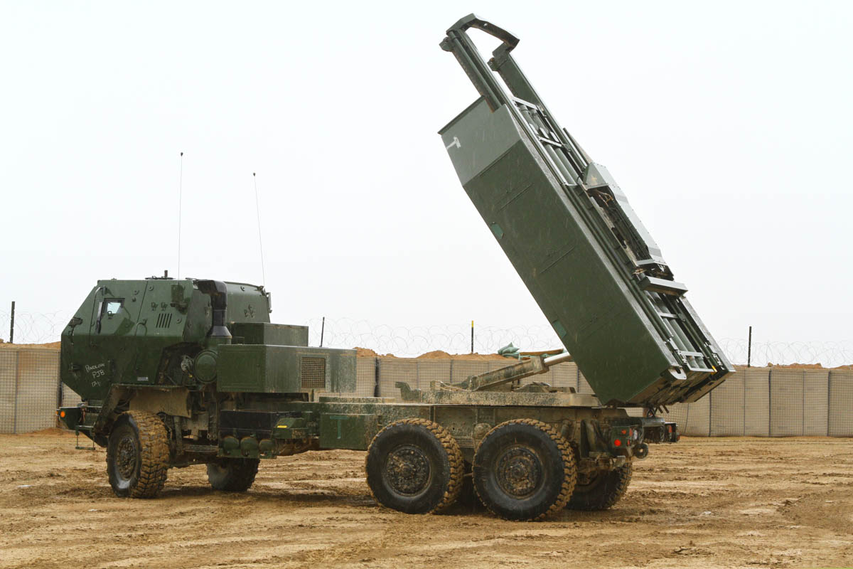 US Marines/Army Transport HIMARS Launchers