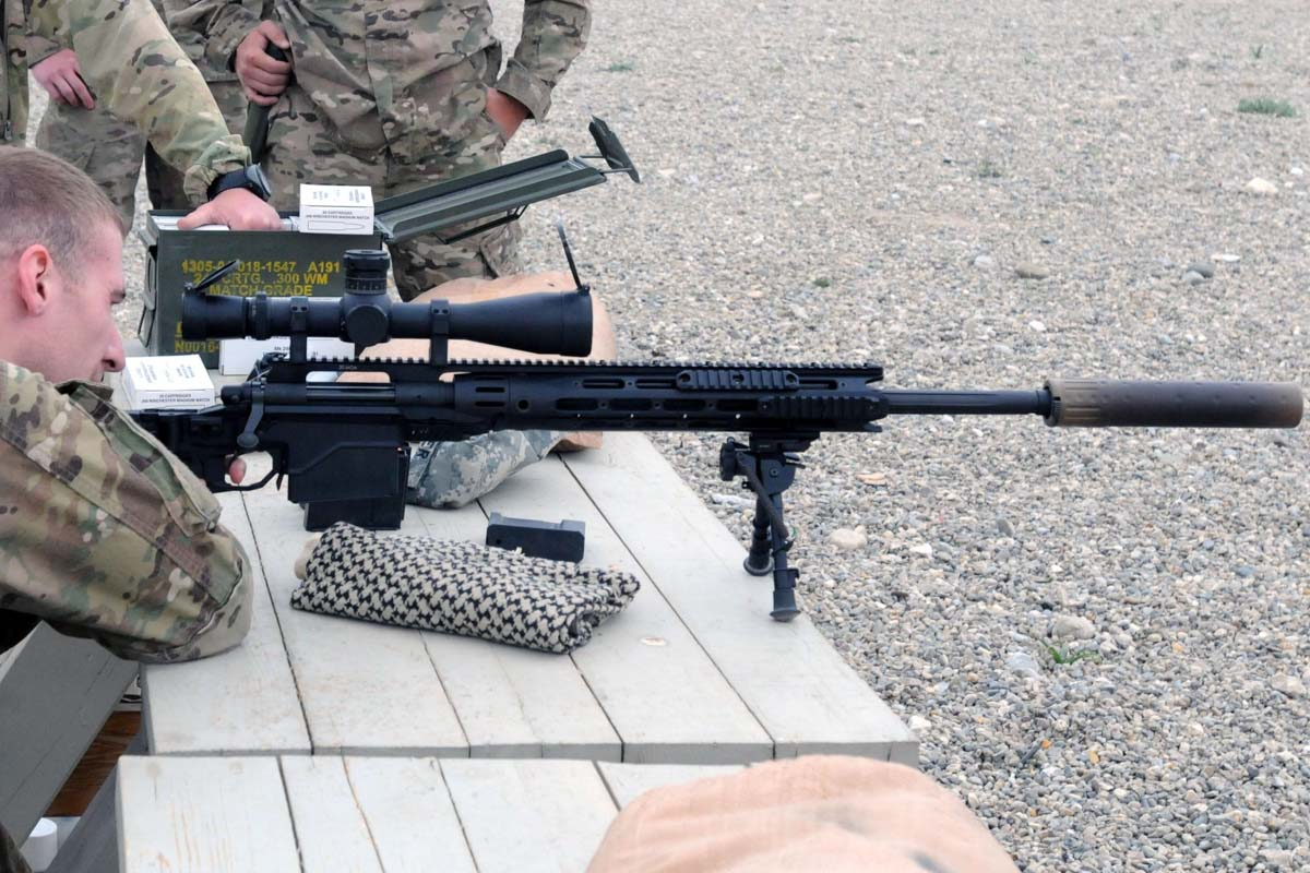 armys long serving sniper rifle - HD1600×828